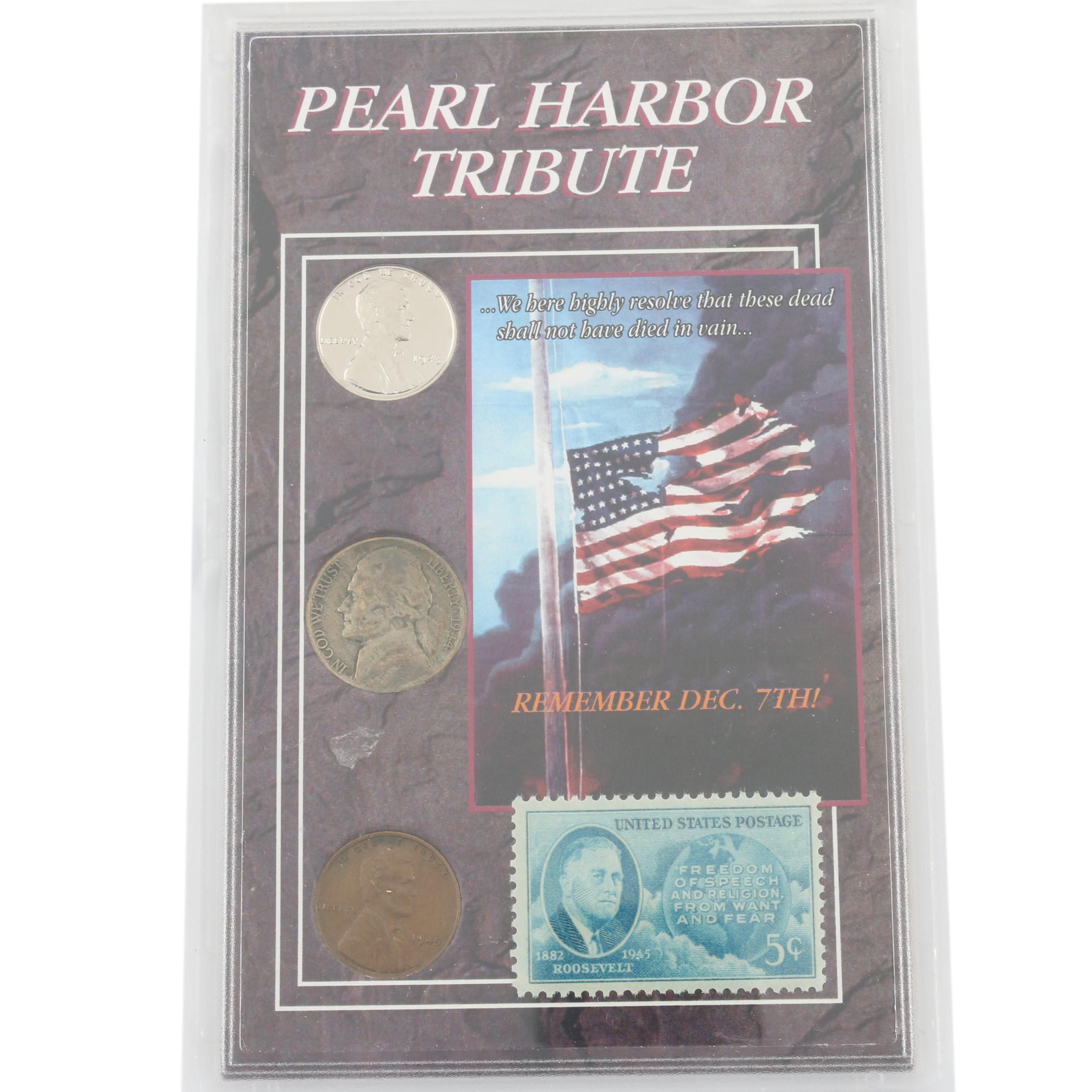 Pearl Harbor Tribute Collection Coin Set