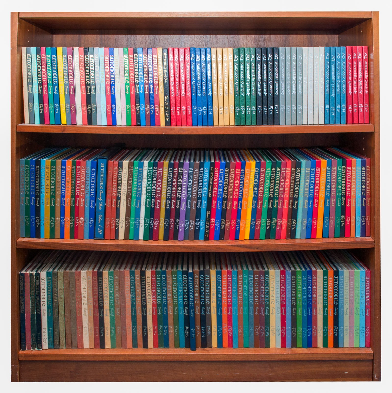 """Complete Collection of """"Automobile Quarterly"""" Hardcover Periodical, Volumes 1-52"""