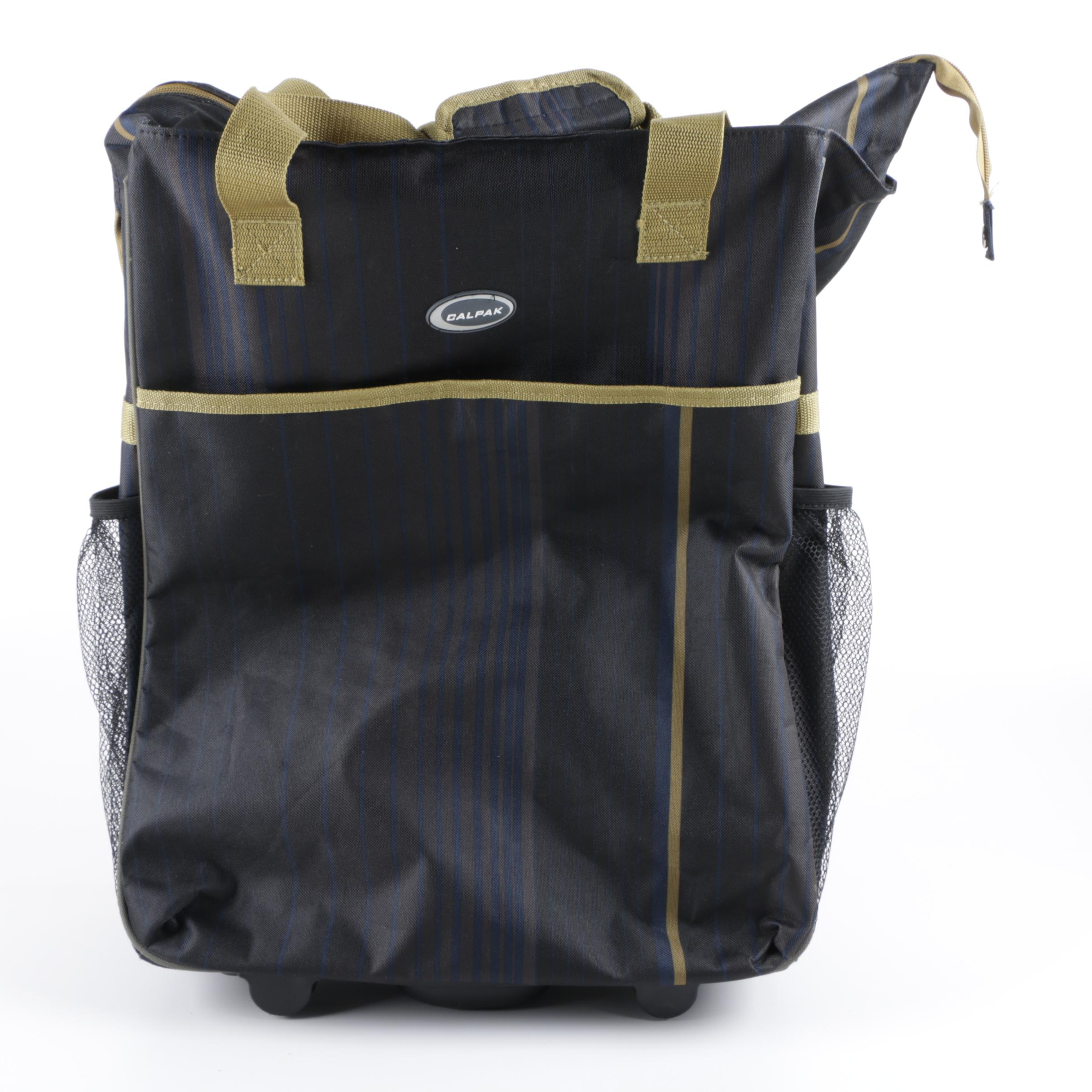 CalPak Big Eazy Woven Polyester Rolling Luggage Bag