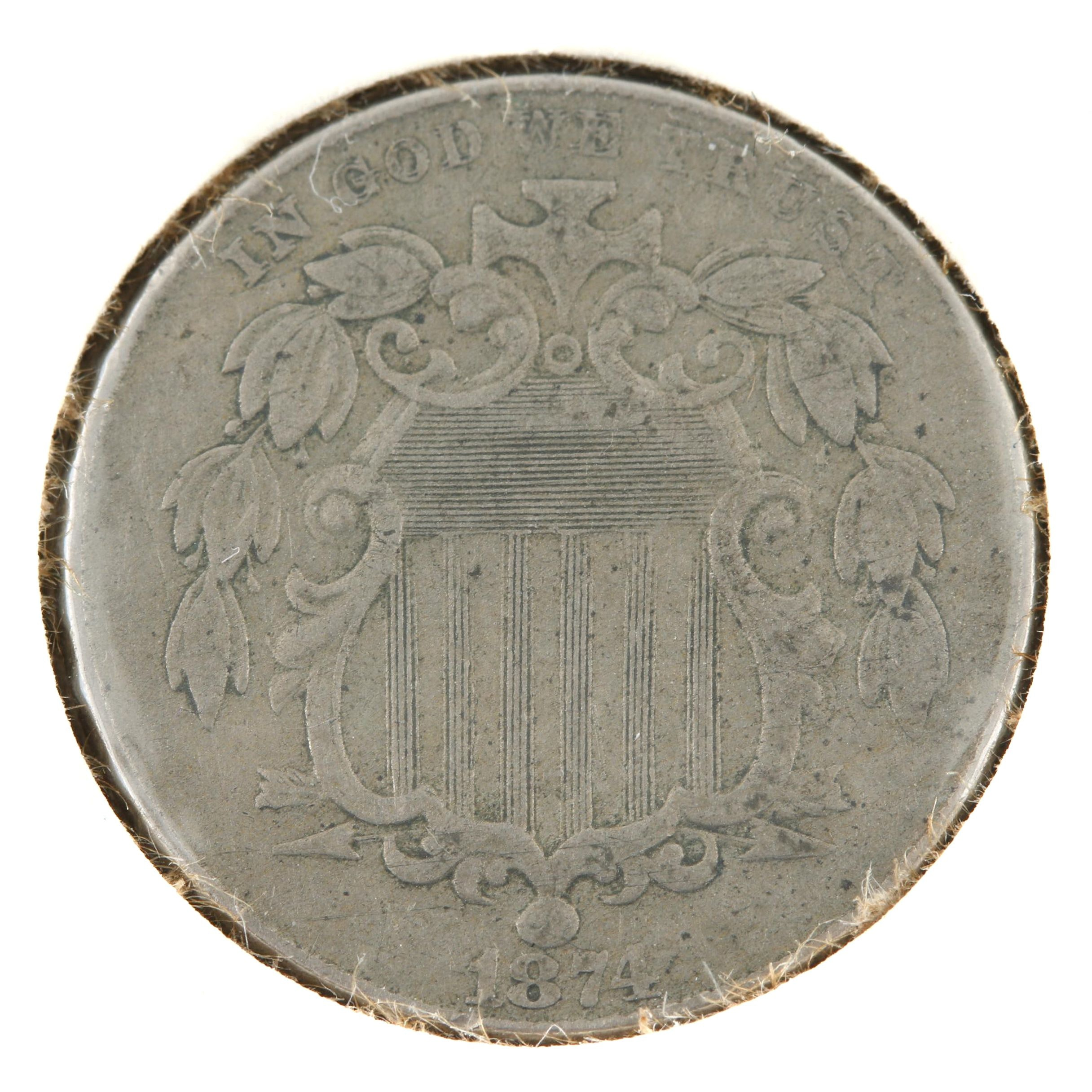 1874 Shield Nickel