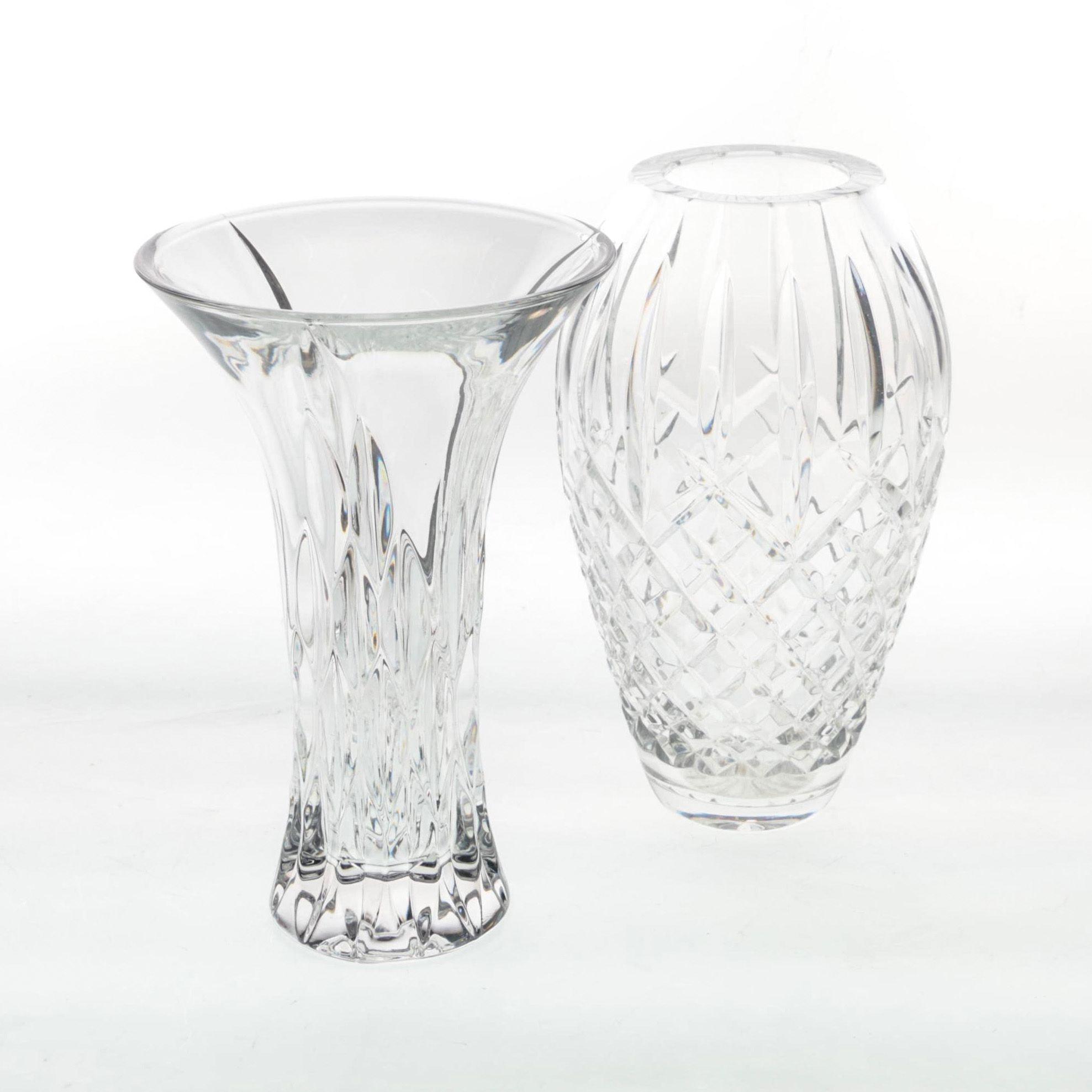 Pairing of Cut Crystal Vases