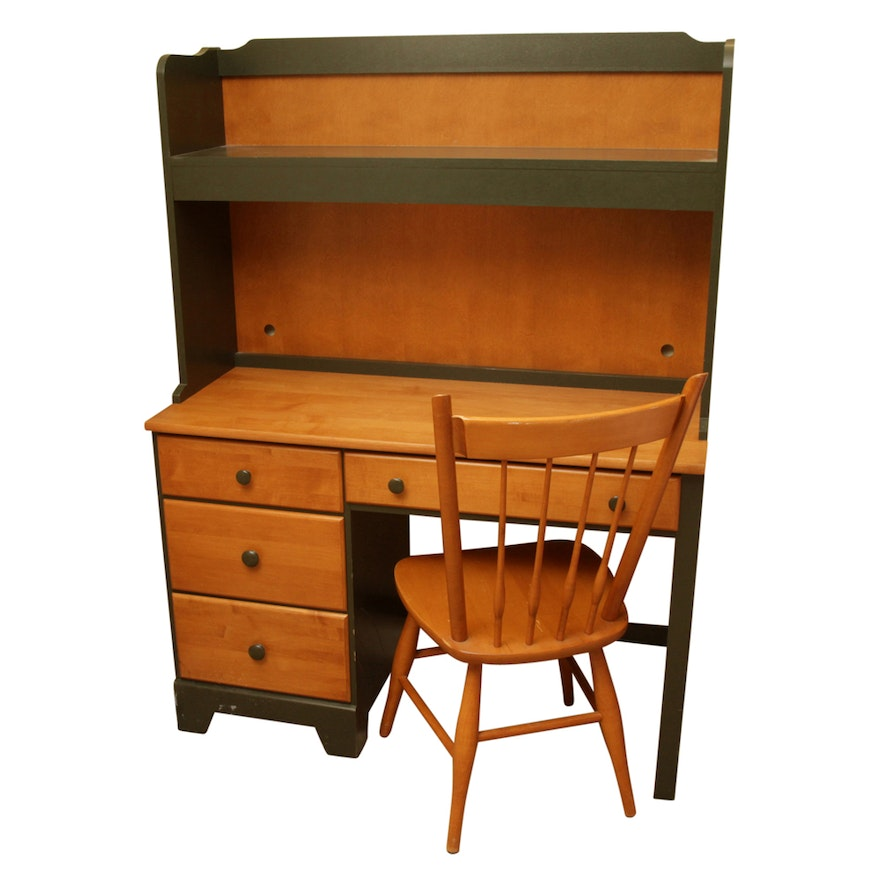 Desk Hutch And Chair By Moosehead Furniture