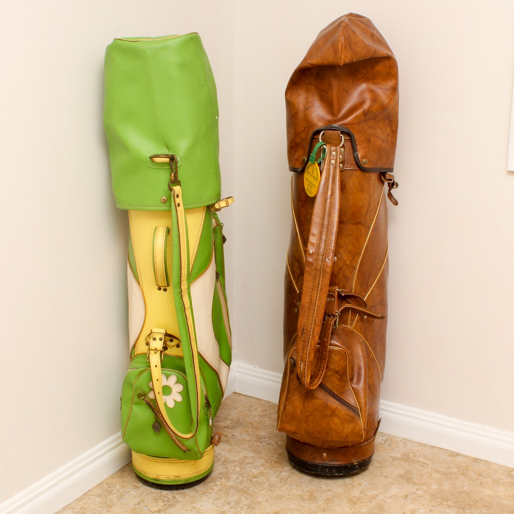 Golf Bags with Clubs