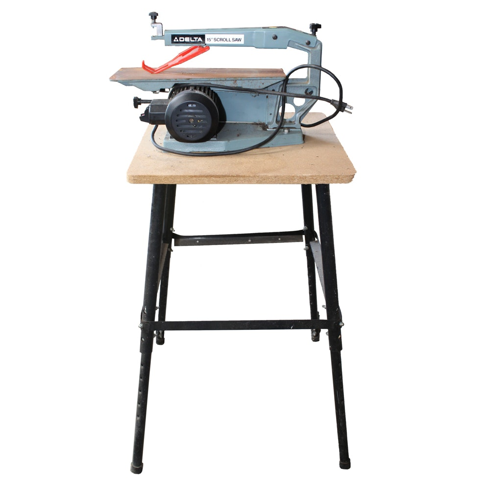 "Delta 15"" Scroll Saw with Work Stand"