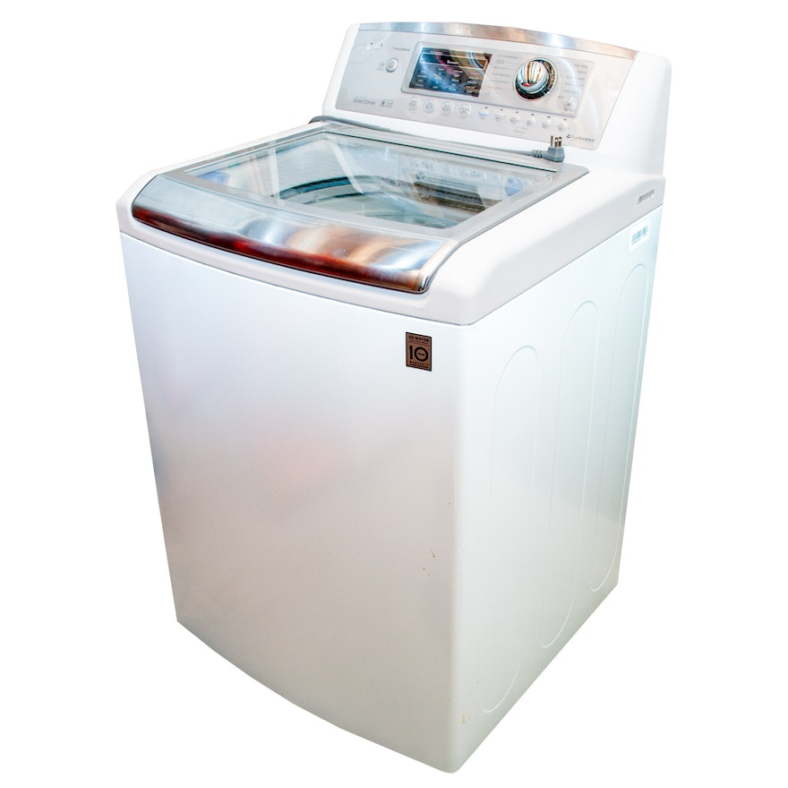 Lg Waveforce Washer With Inverter Direct Drive Motor