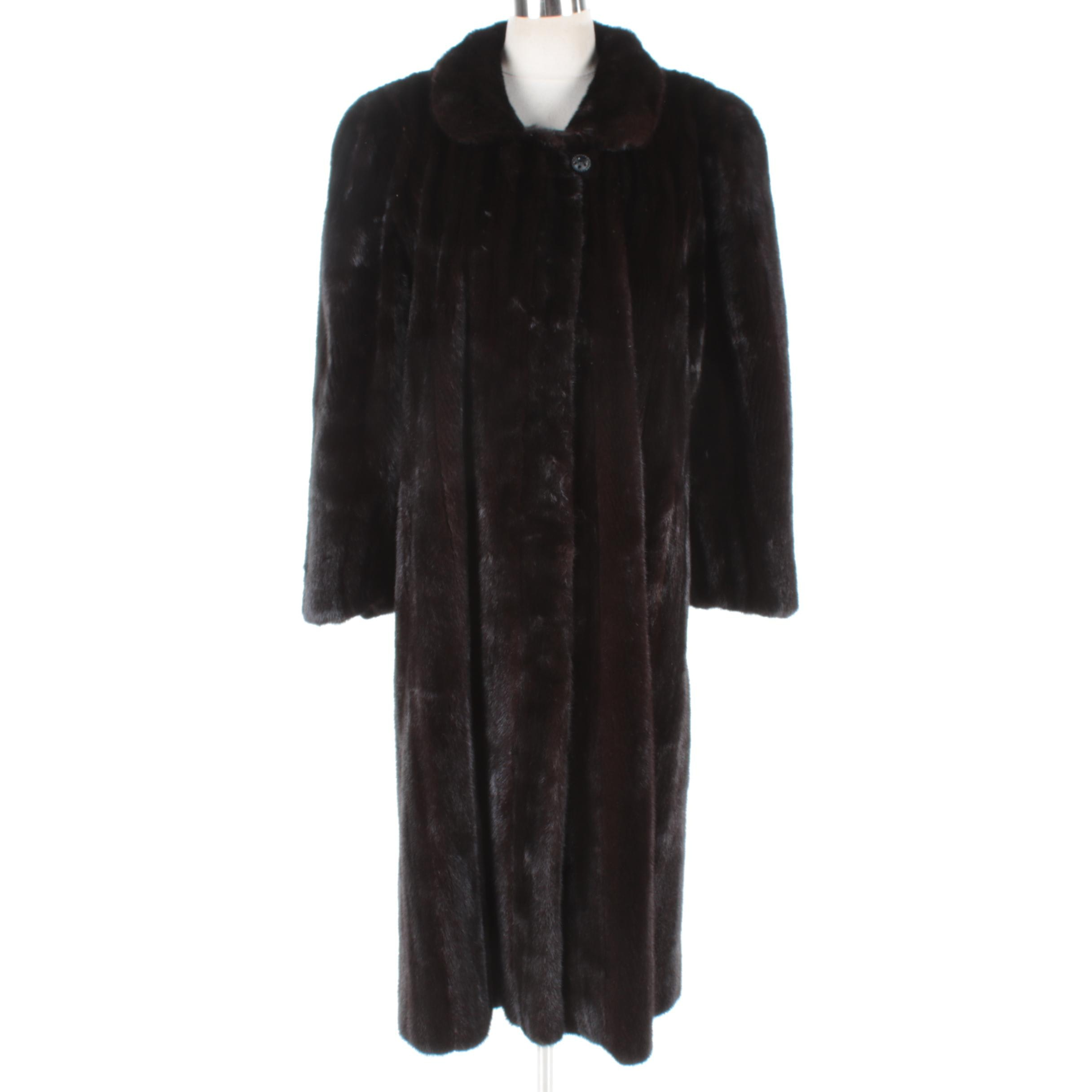 Women's Vintage Mink Fur Coat