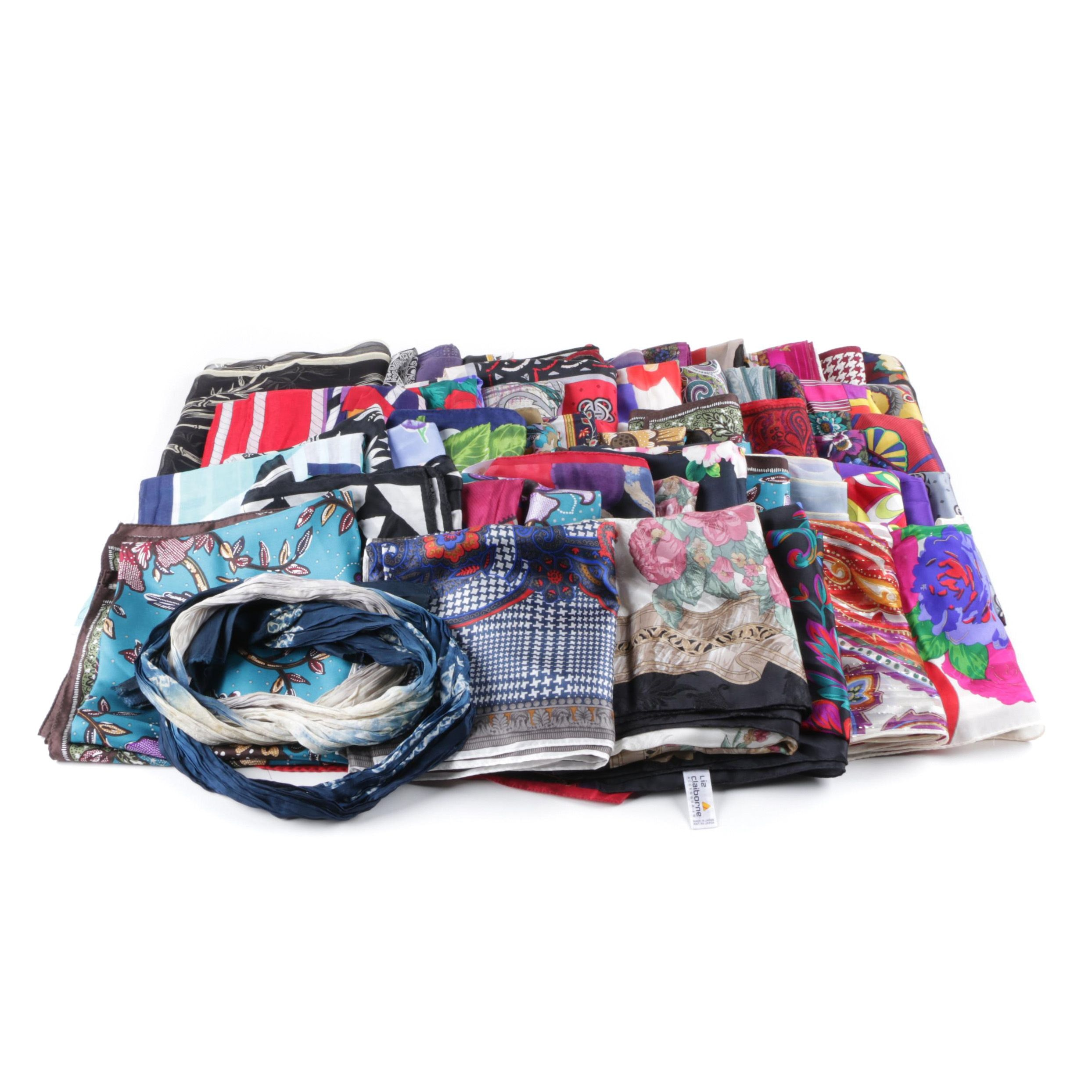 Scarf Collection Including Perry Ellis and Liz Claiborne
