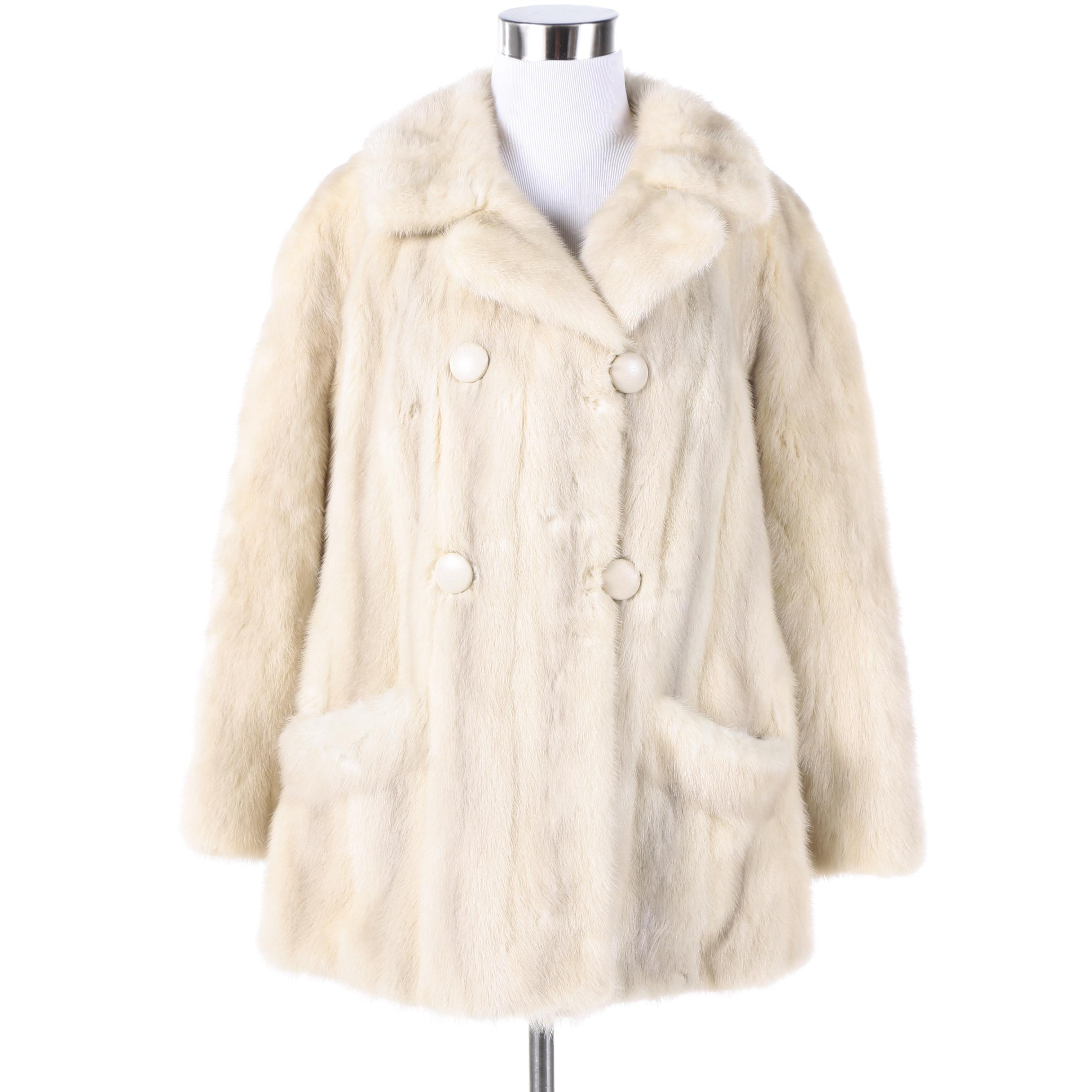 Women's Vintage Shechter-Segal Mink Fur Coat