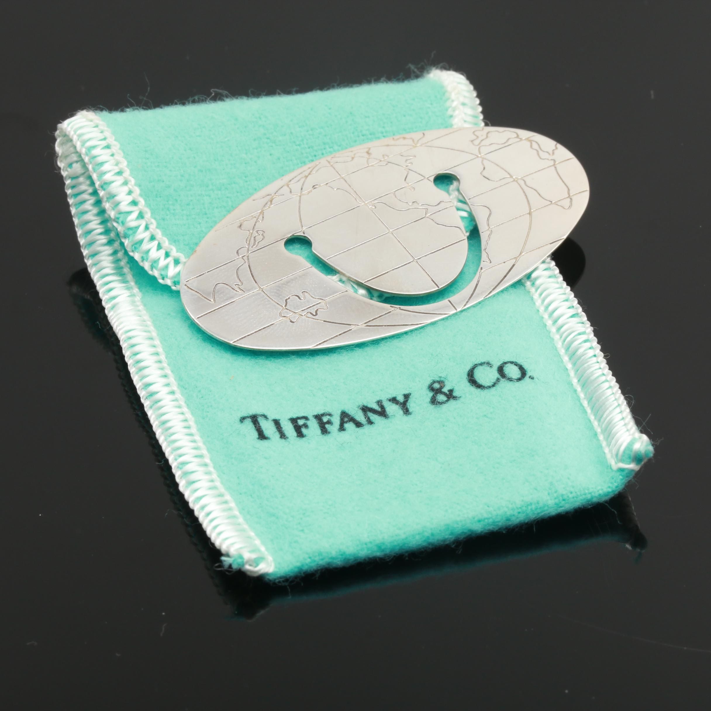 Tiffany & Co. Sterling Silver Globe Bookmark