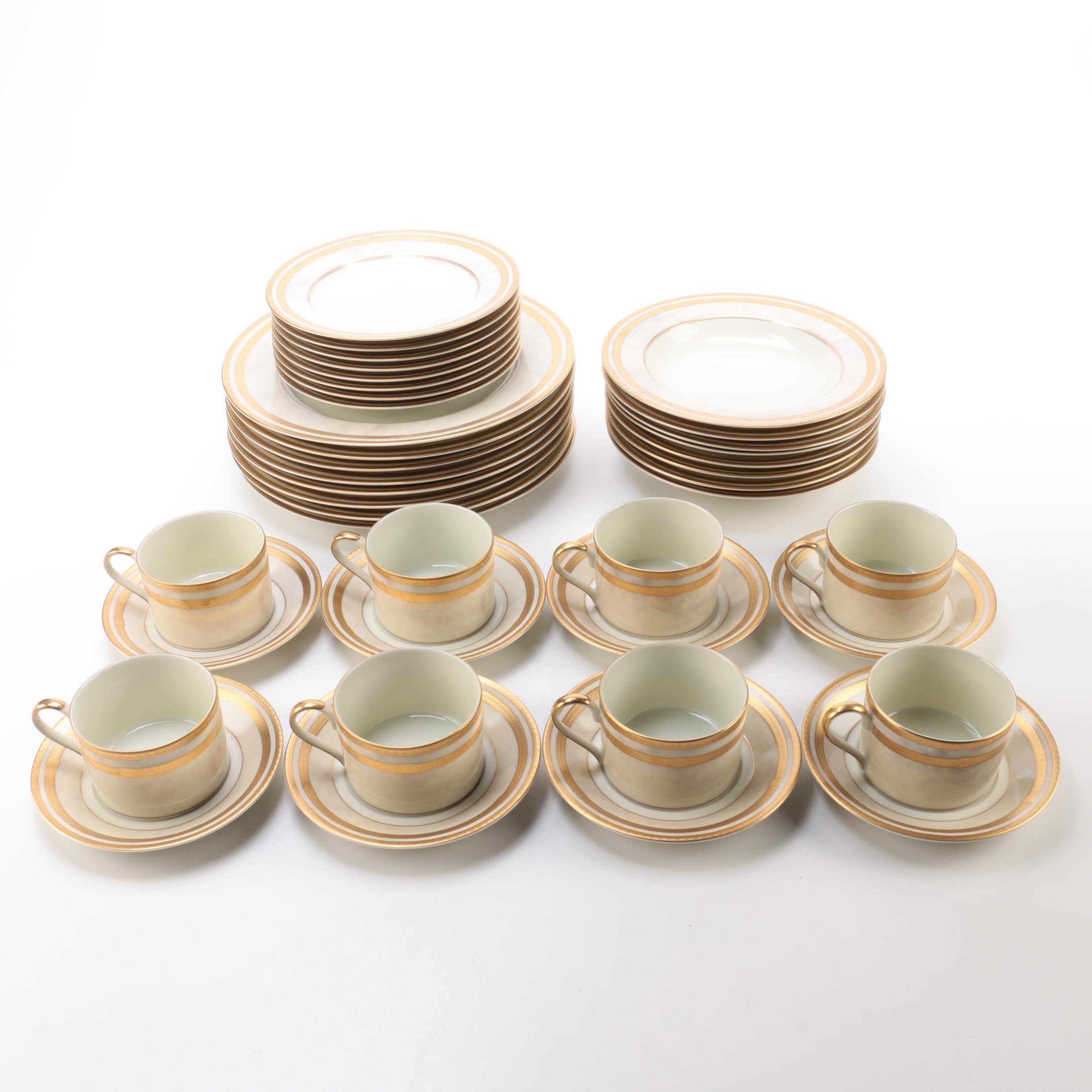 "Oscar de la Renta ""Ivory Florentine"" Porcelain Dinnerware"