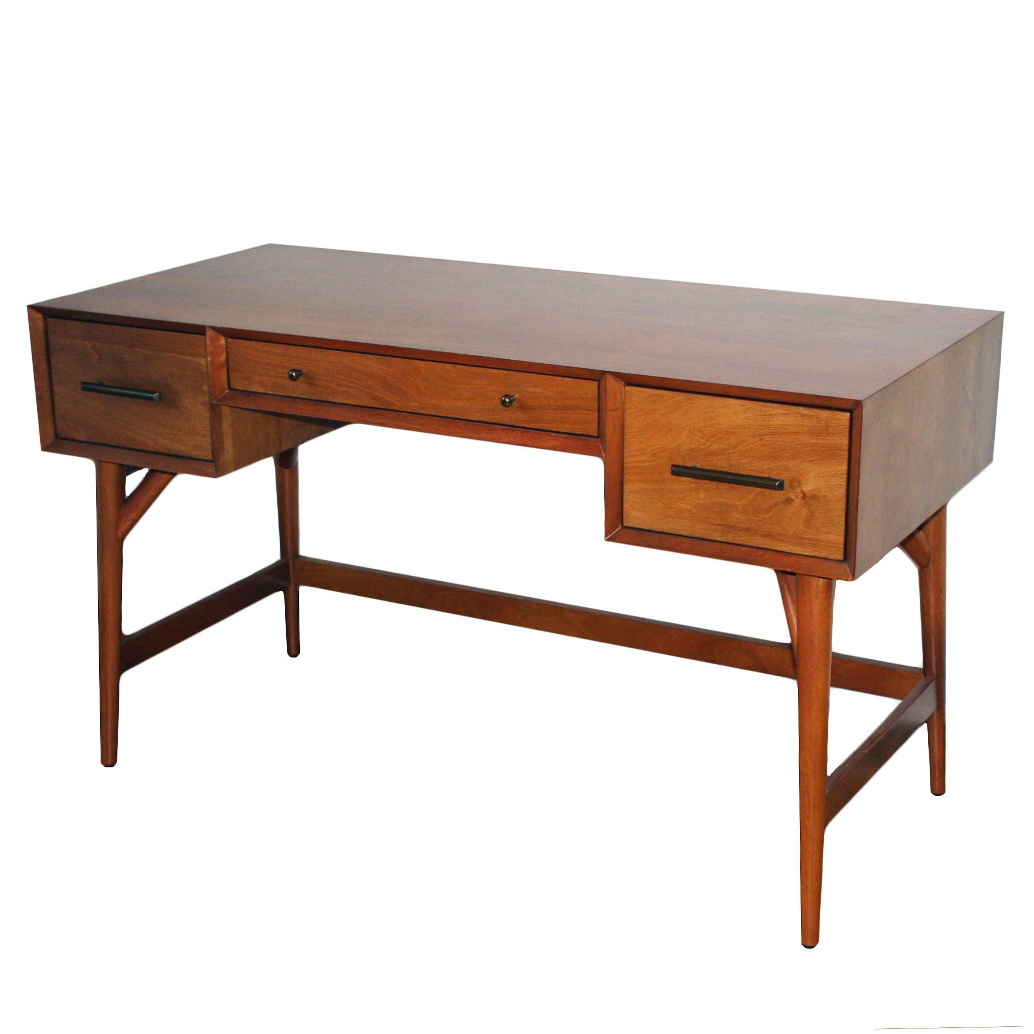 West Elm Mid Century Modern Style Writing Desk