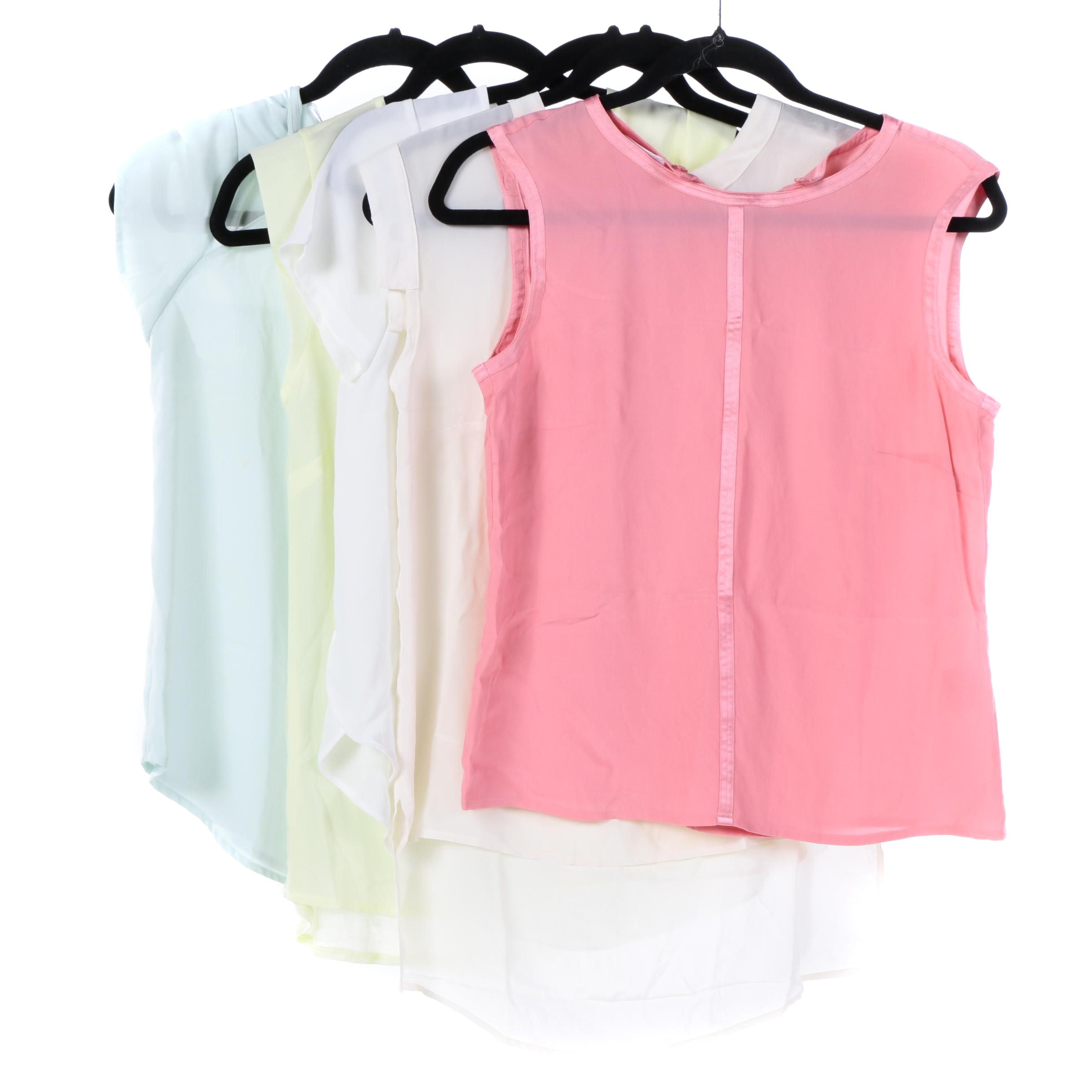 Women's Chiffon Tops Including Escada and French Connection