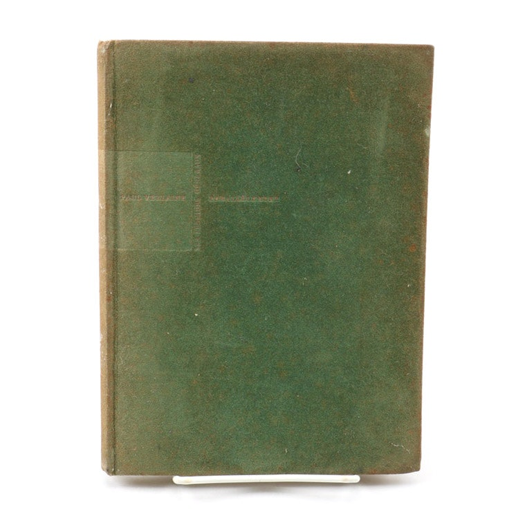 """French """"Parallèlement"""" by Paul Verlaine With Illustrations by Pierre Bonnard"""