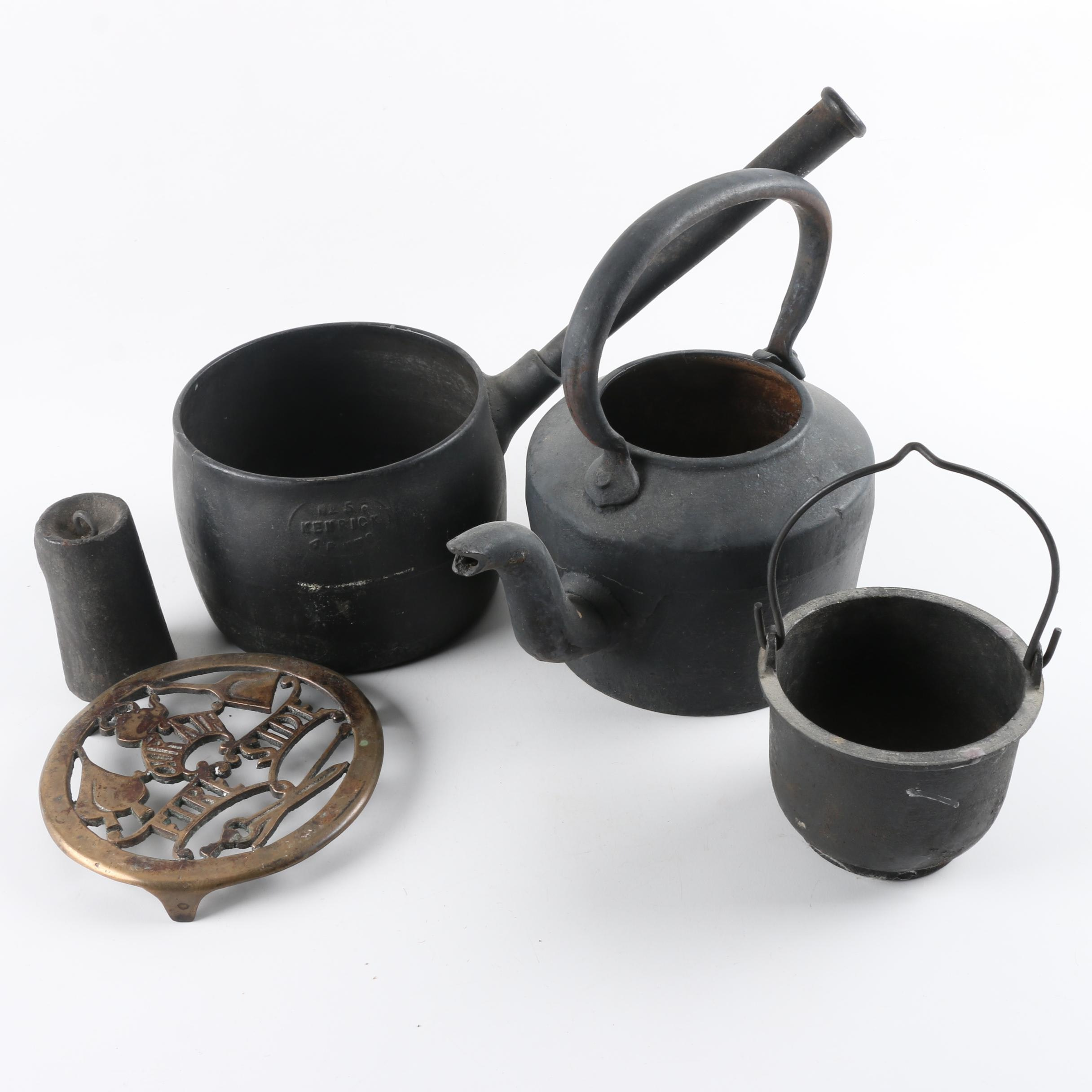Vintage Cast Iron Serveware and Cookware