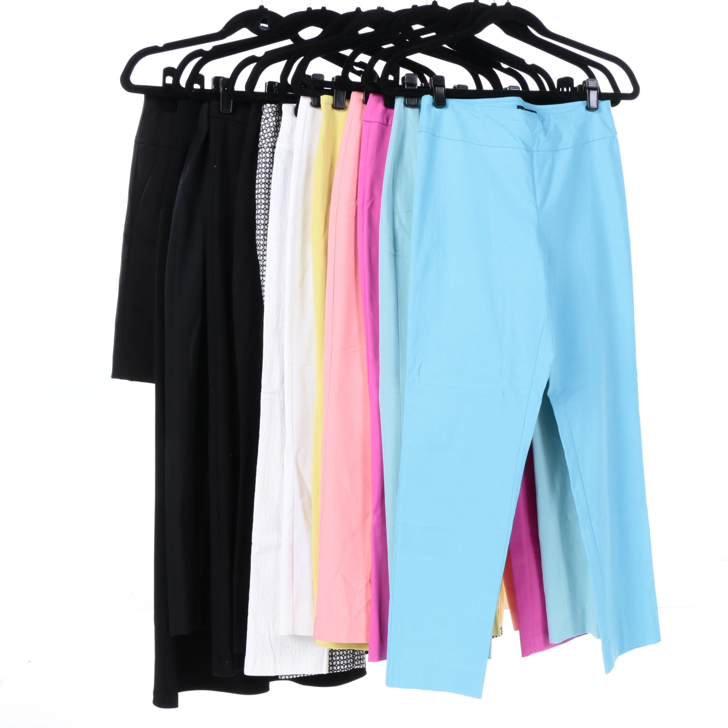 Women's Pants and Skirts Including Ann Taylor Loft, Tahari and St. John Sport