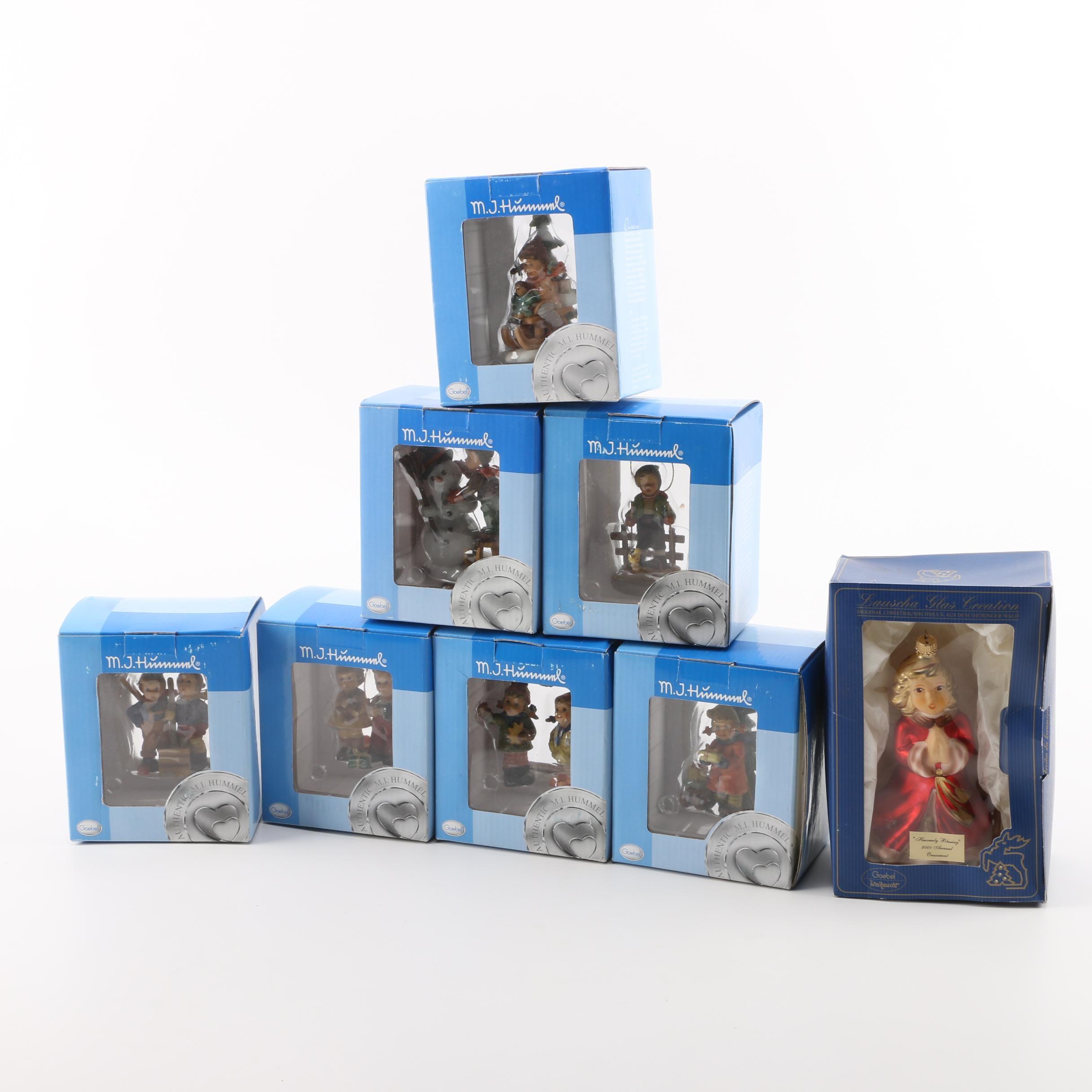 Boxed Goebel M.J. Hummel Ornaments