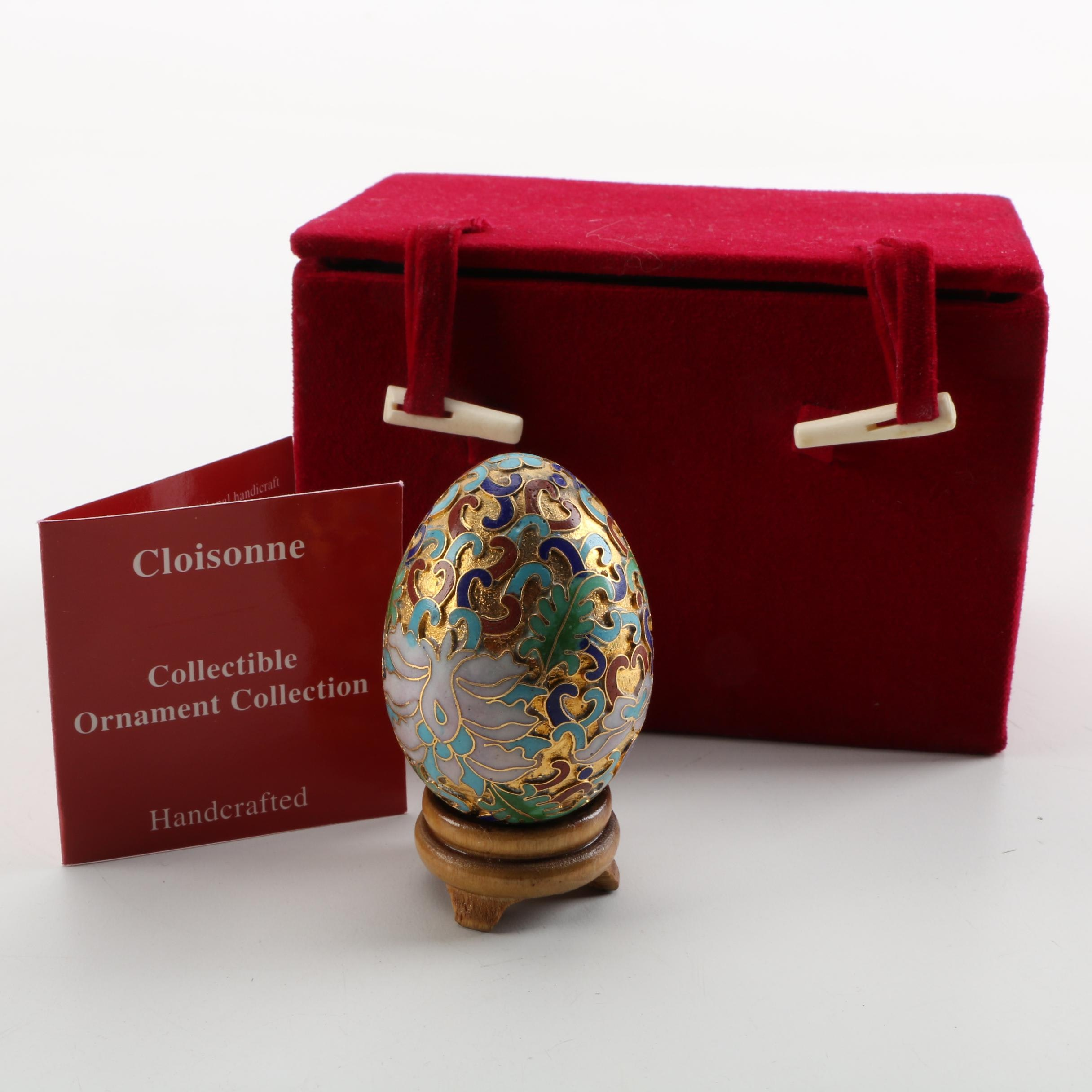 Decorative Egg with Stand