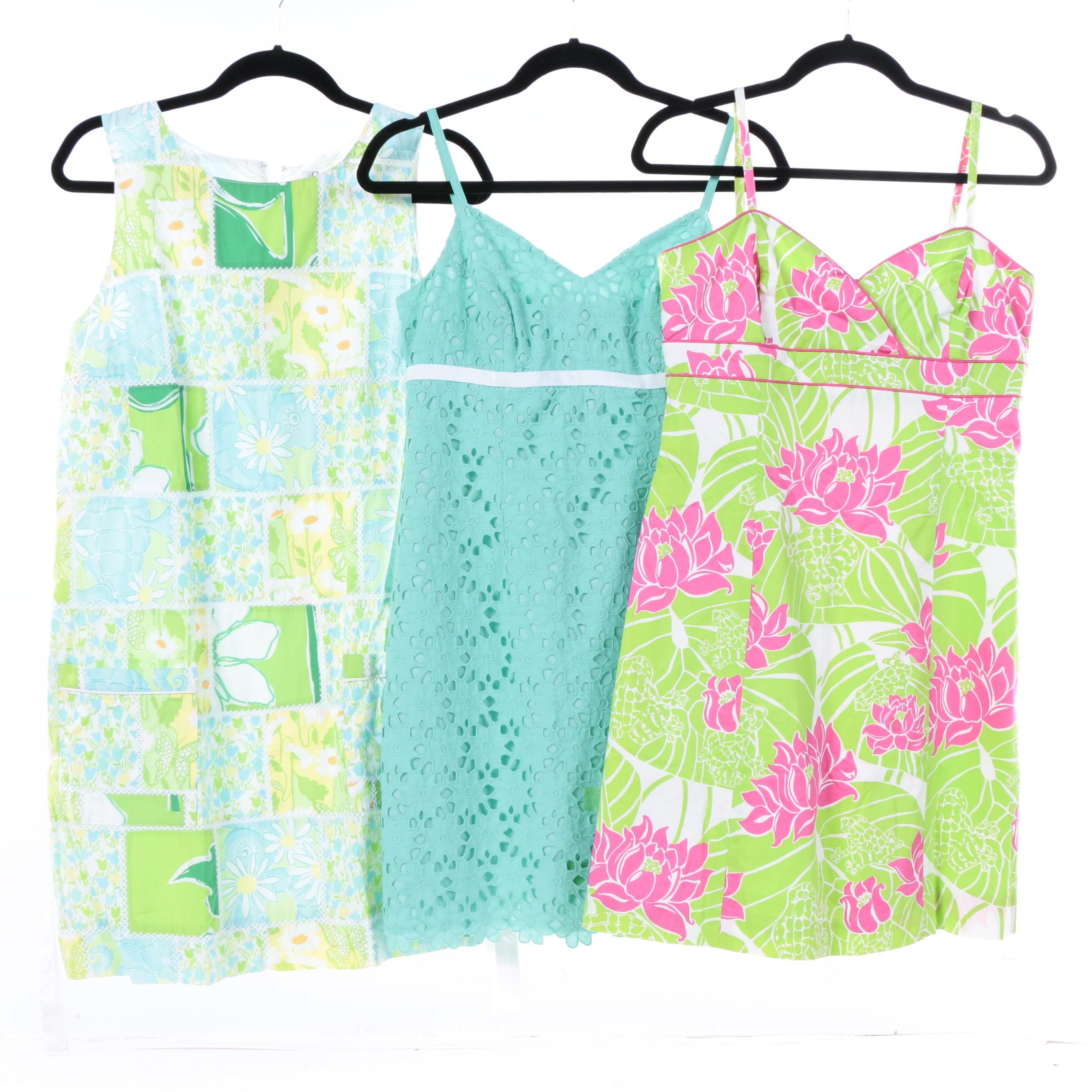Lilly Pulitzer Sleeveless Floral Dresses