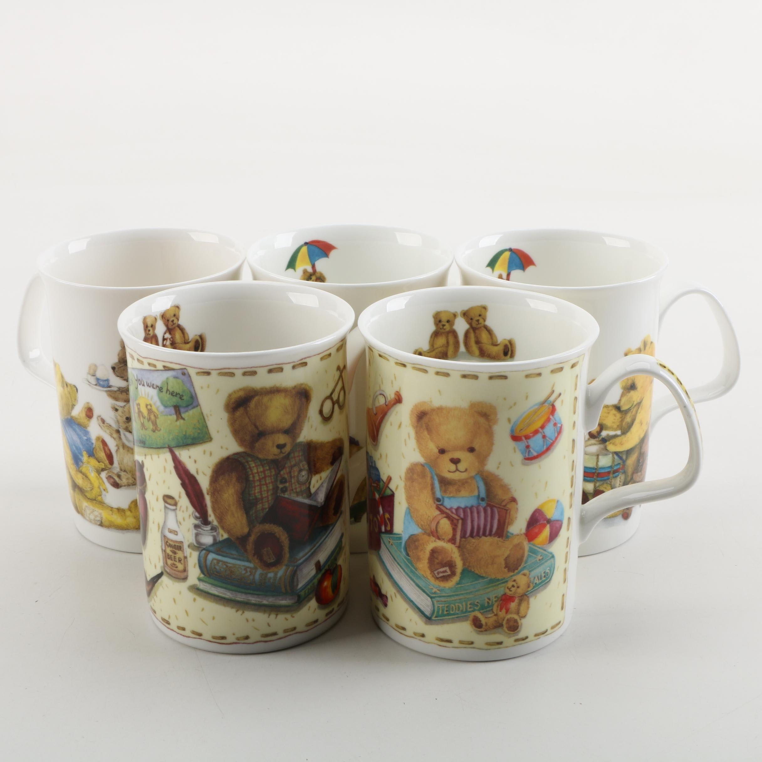 Teddy Bear Mugs from Lascelles and Roy Kirkham
