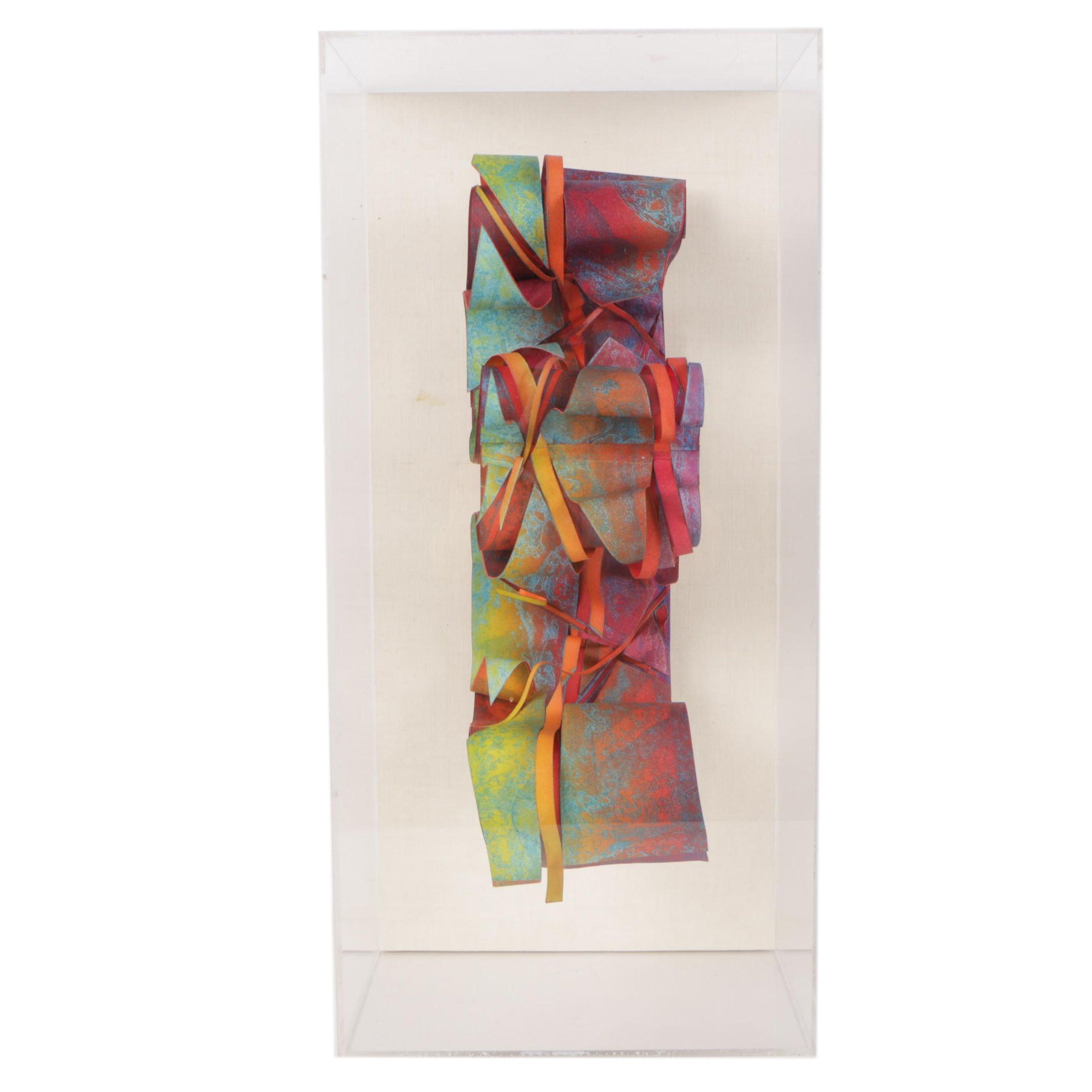 Ghita Hardimon Abstract Mixed Media Sculpture