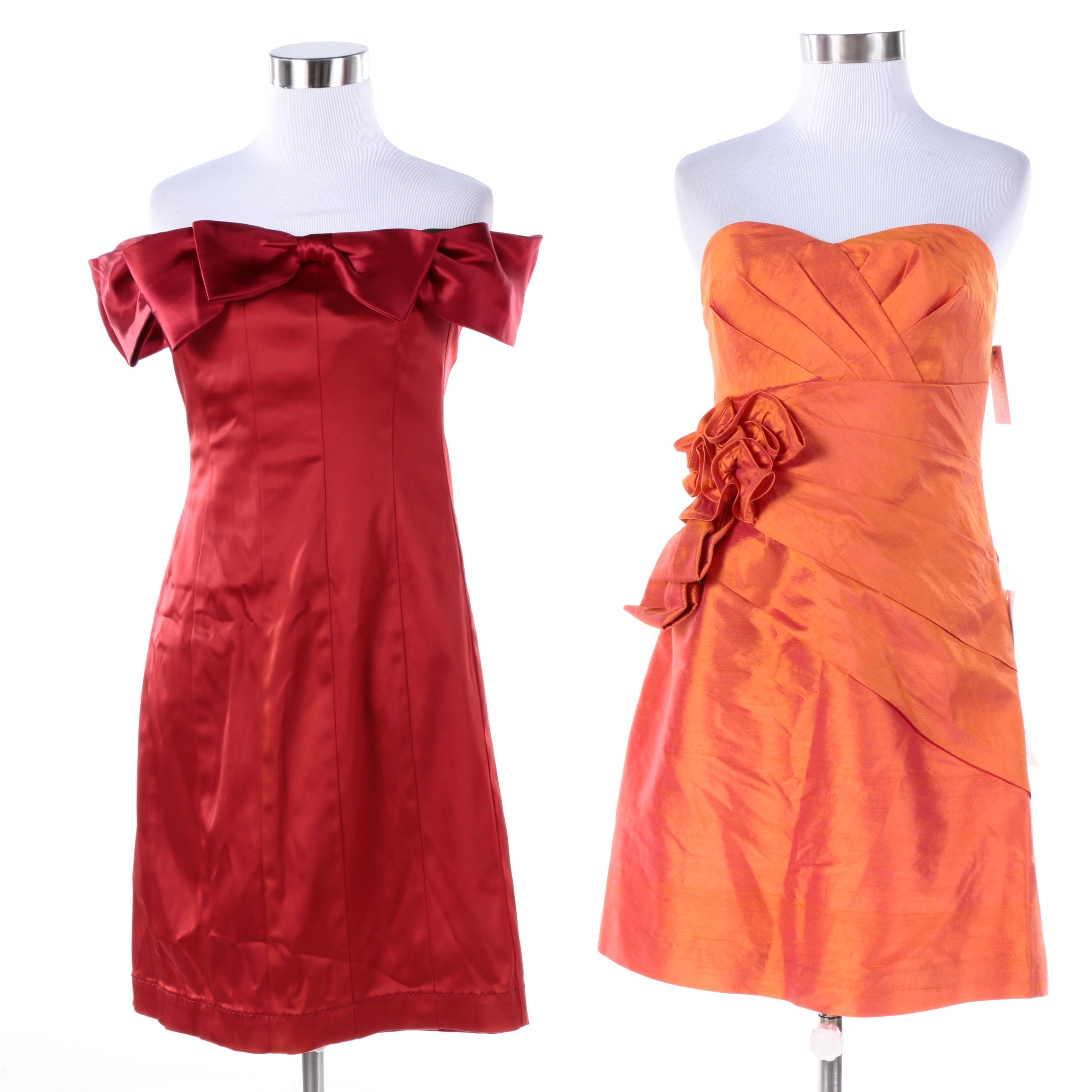 Phoebe Couture Dresses Including Silk