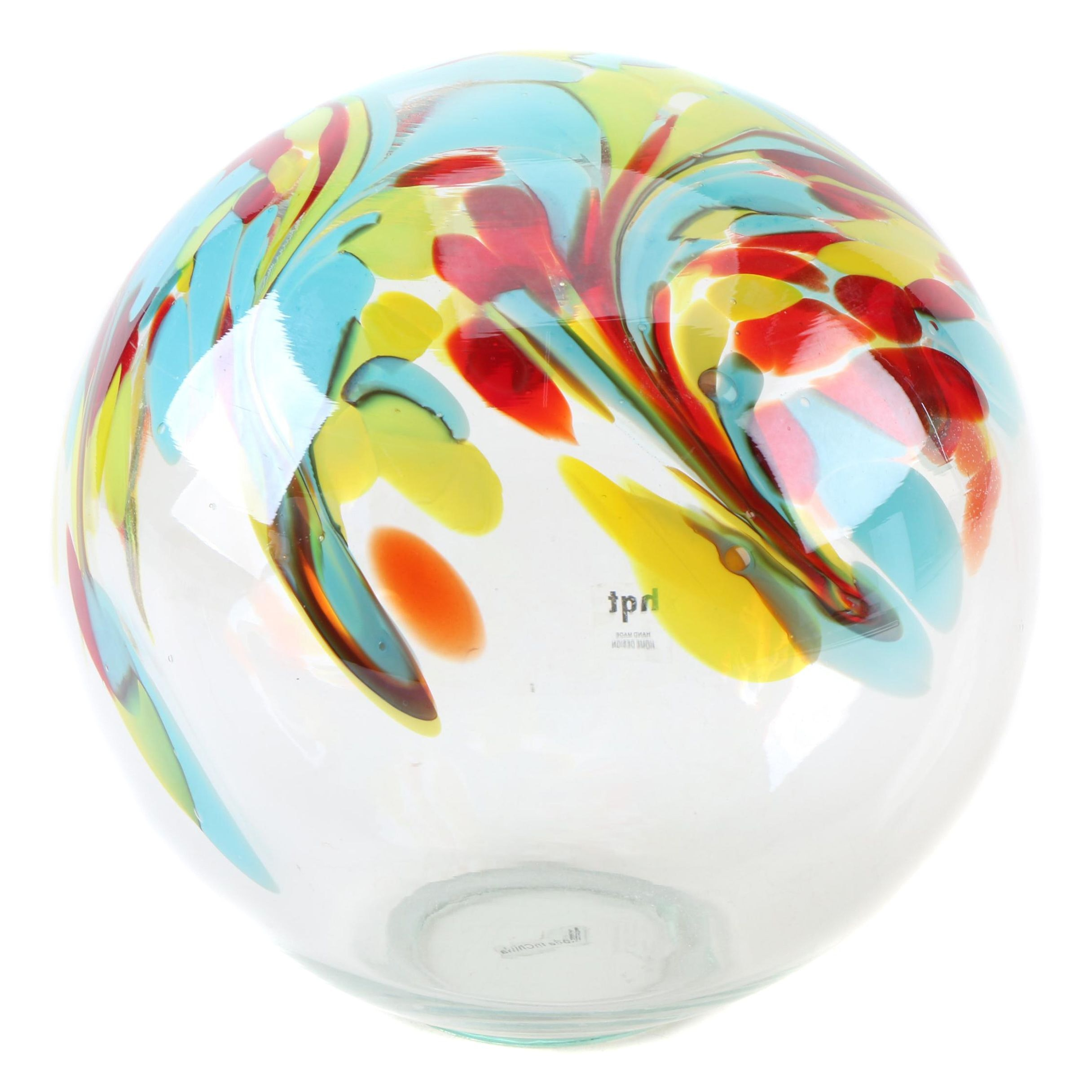 Blown Art Glass Sphere
