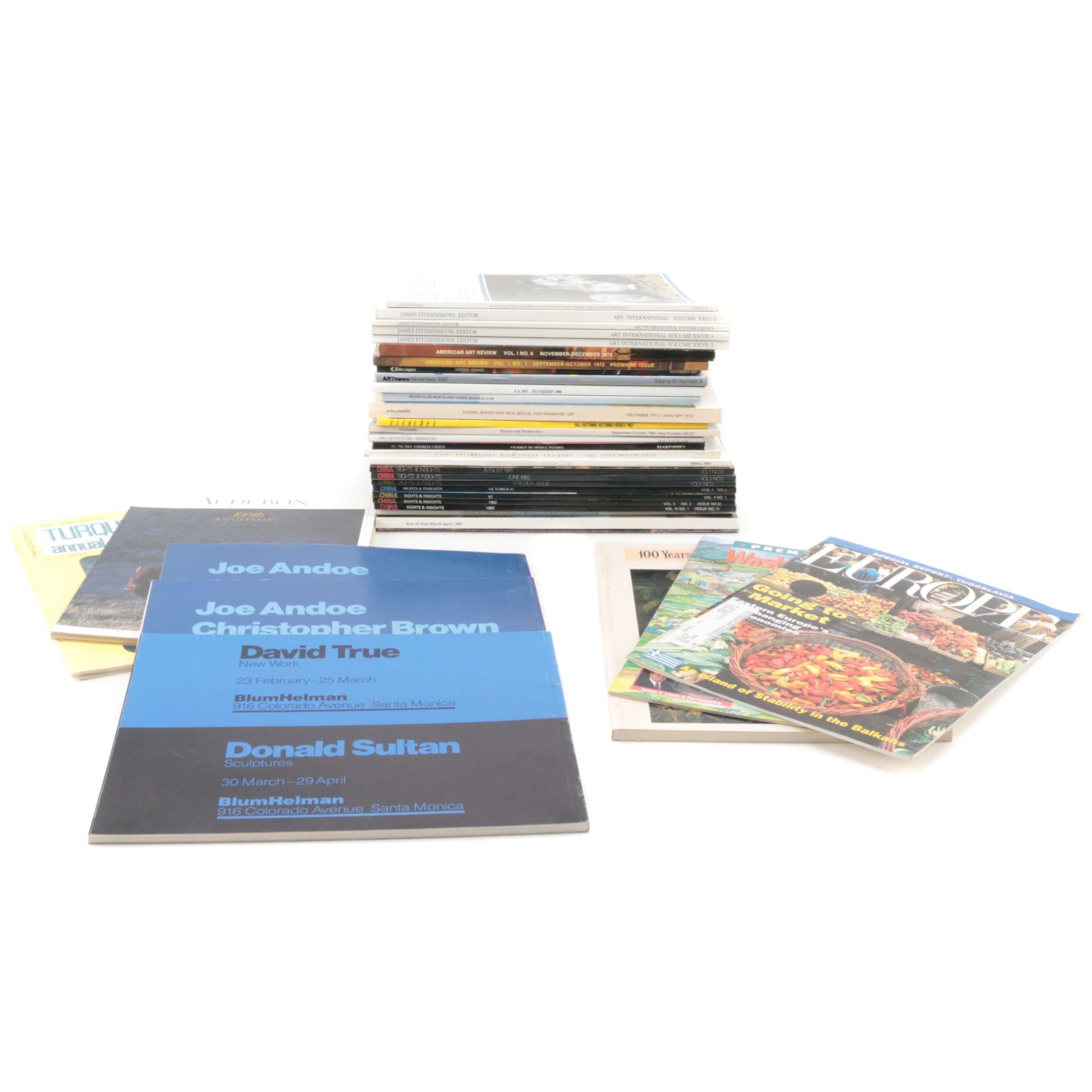 Art Books and Magazines