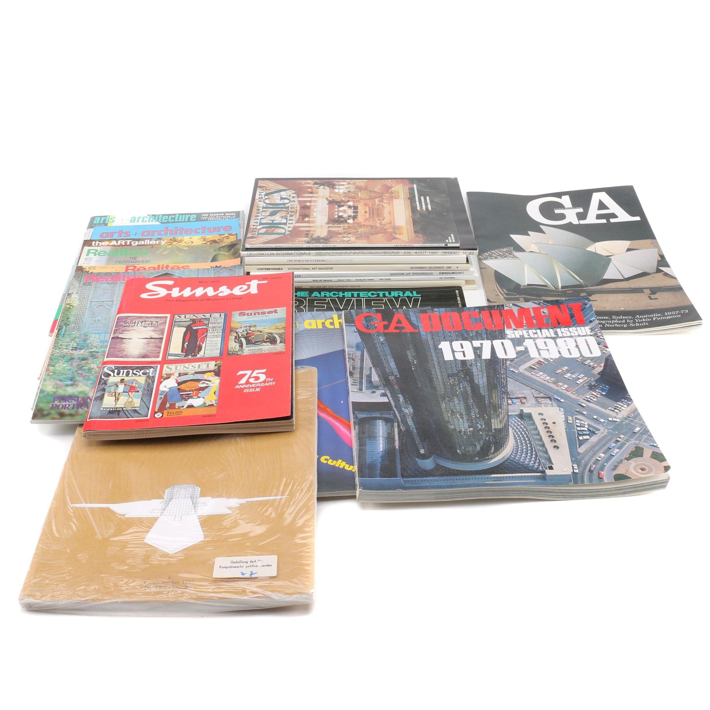 Architecture, Interior Design and More Magazines