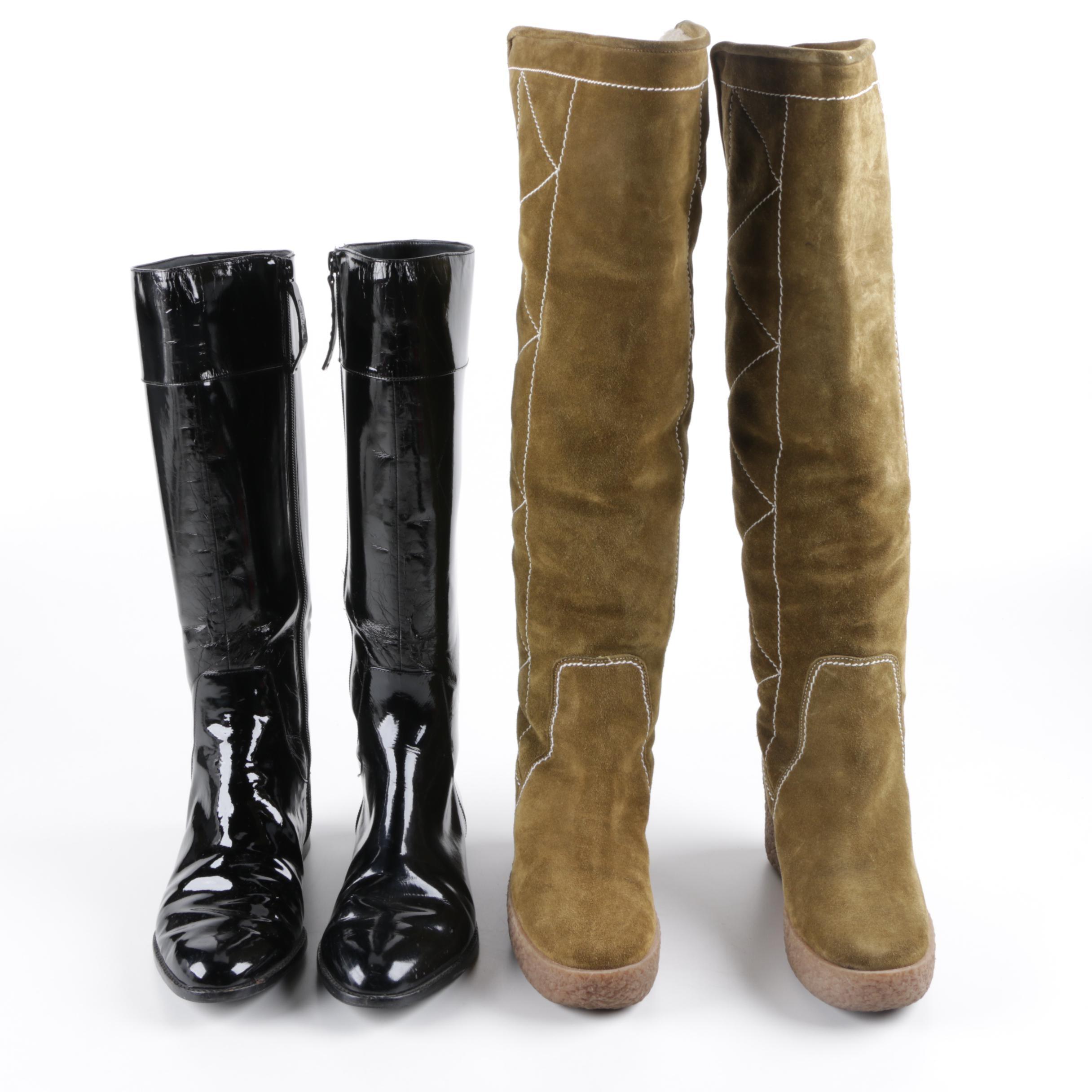 Women's Tall Boots Including Calvin Klein and KORS Michael Kors