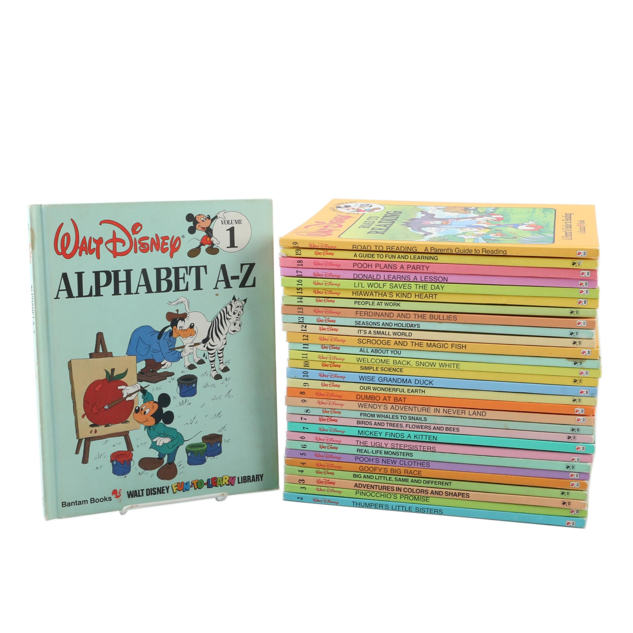 "Walt Disney ""Fun-to-Read Library"" Collection"