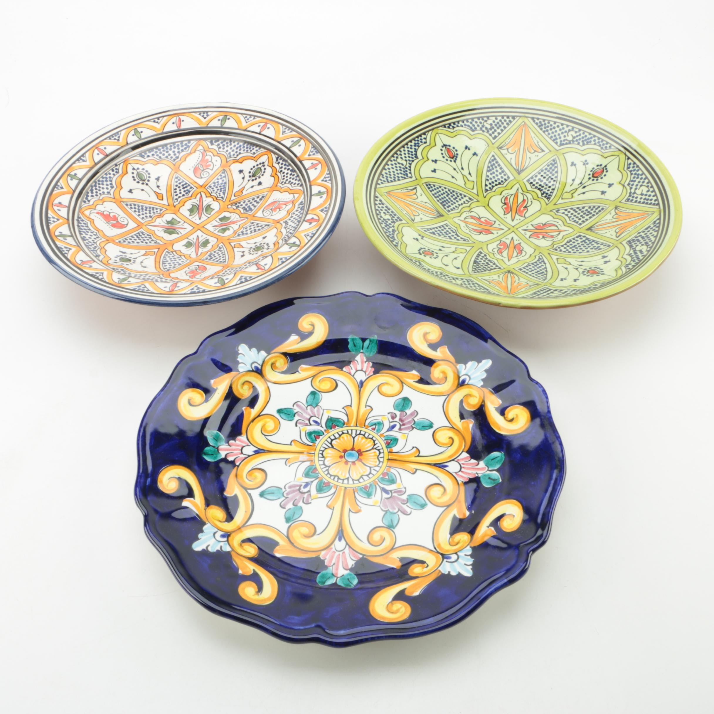 Hand Painted Moroccan and Ravello Italian Tableware ...  sc 1 st  EBTH.com & Hand Painted Moroccan and Ravello Italian Tableware : EBTH