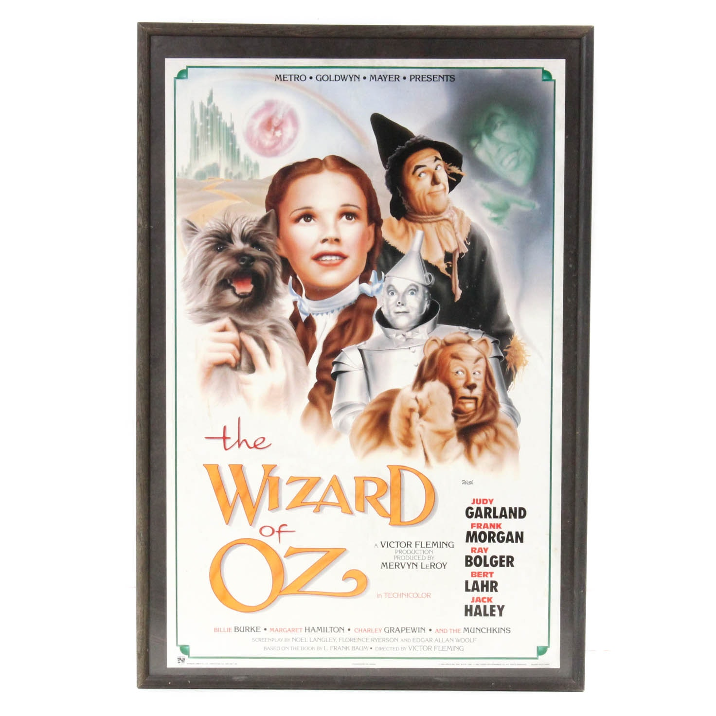 """Reproduction """"The Wizard of Oz"""" Poster"""