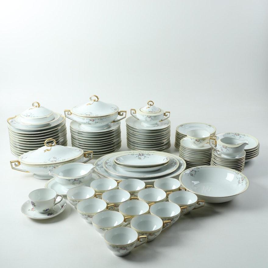 Tirschenreuth Bavaria Studio 4179 Hand Painted Porcelain Tableware
