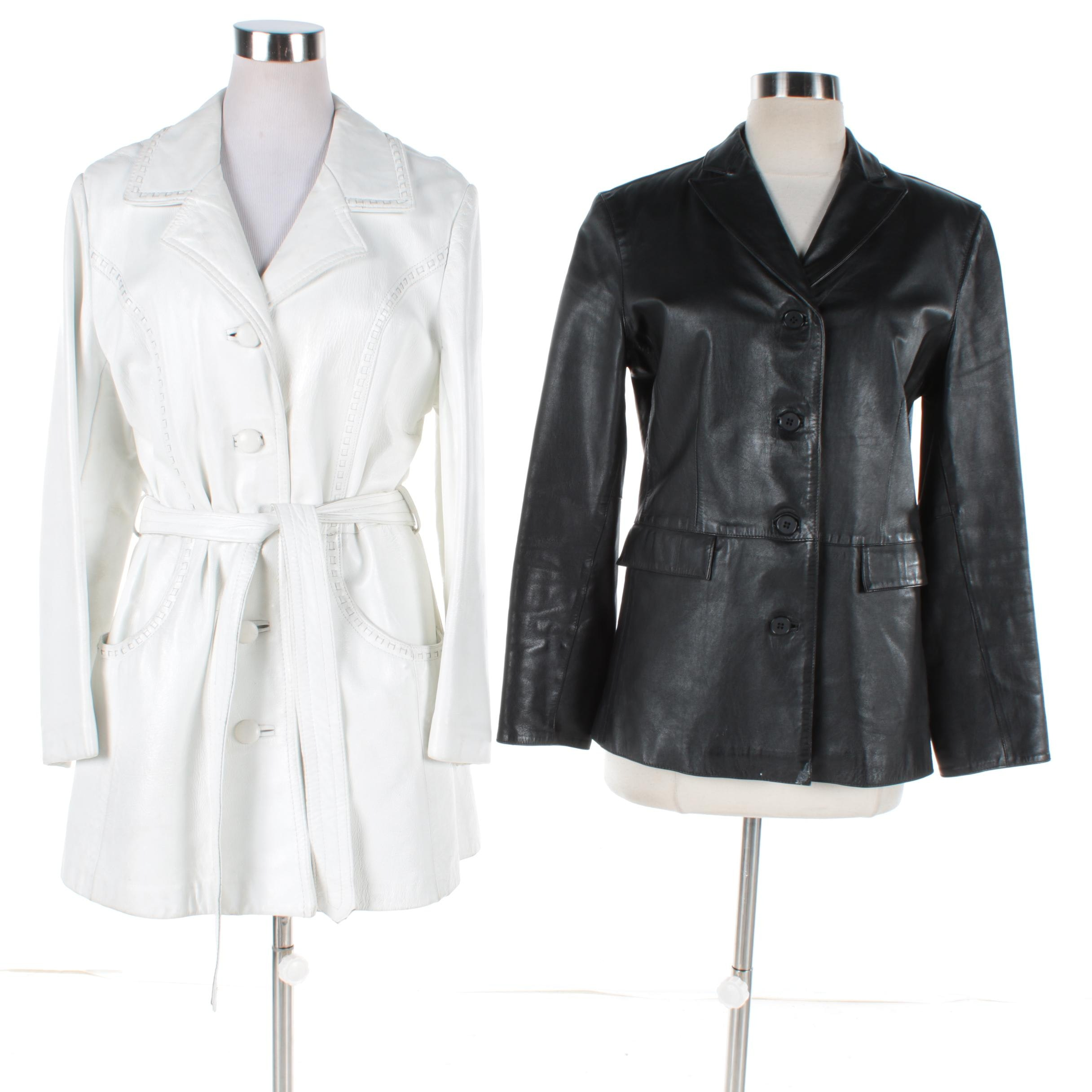 Women's Leather Jackets Including Gap and Dandi Modes
