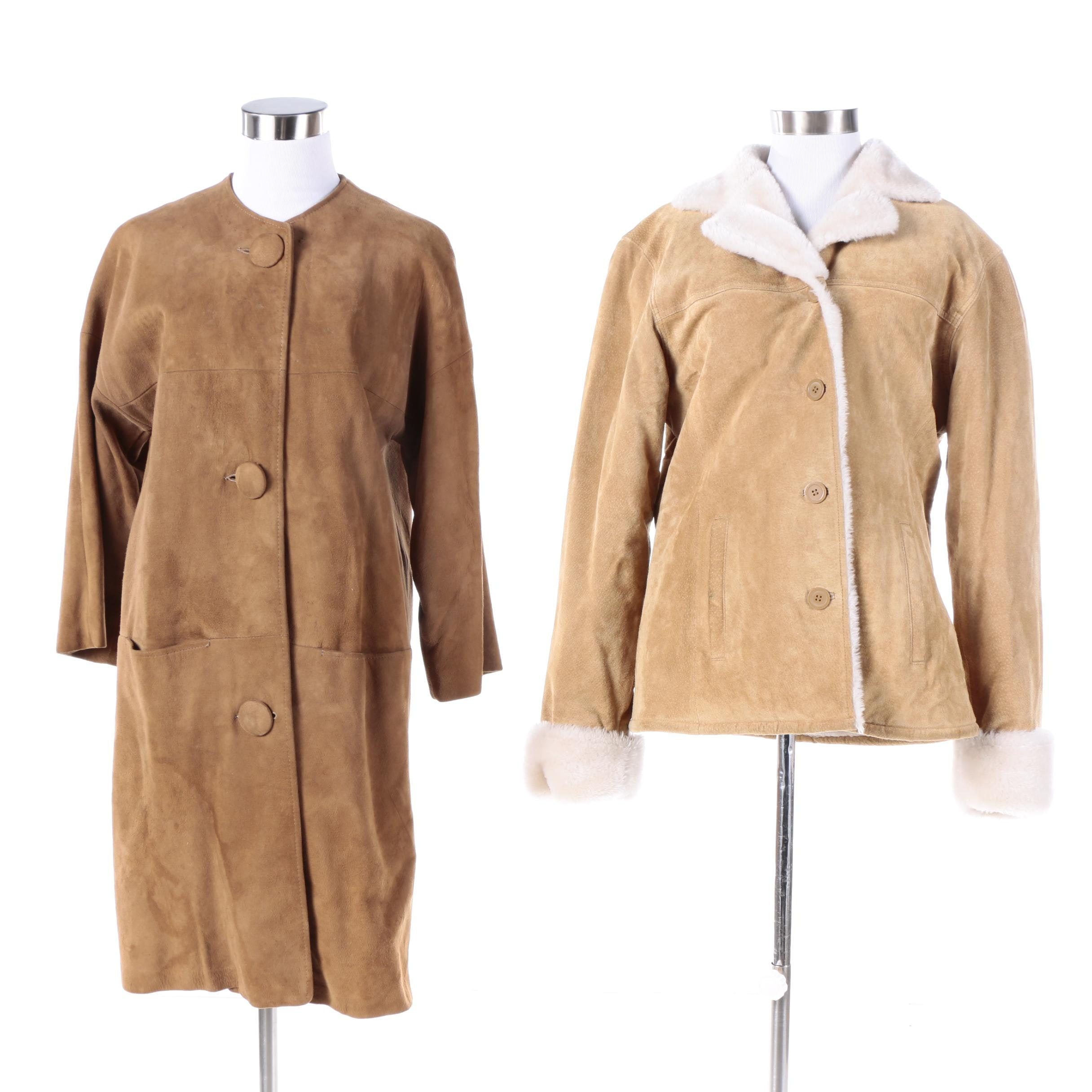 Women's Suede Coat and Jacket Including Adler Collection