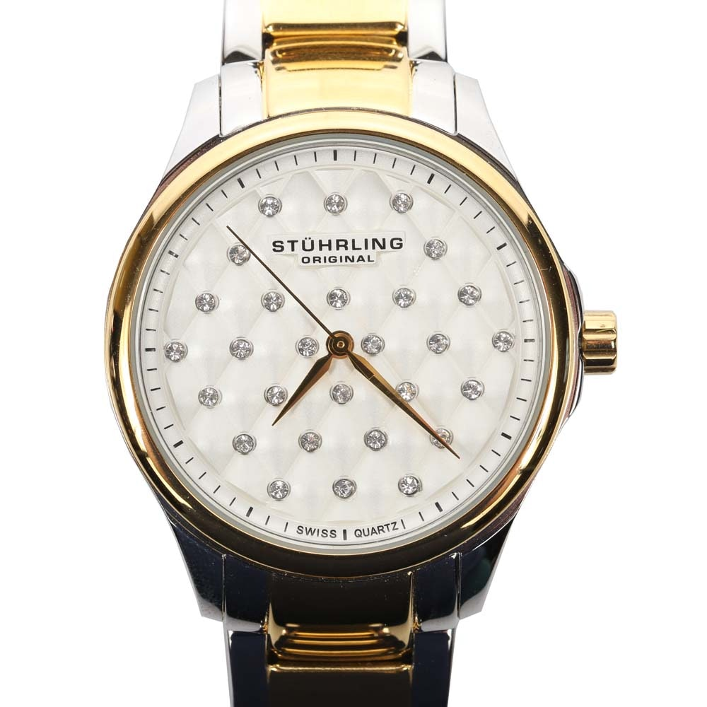Stührling Culcita Two-Tone Wristwatch