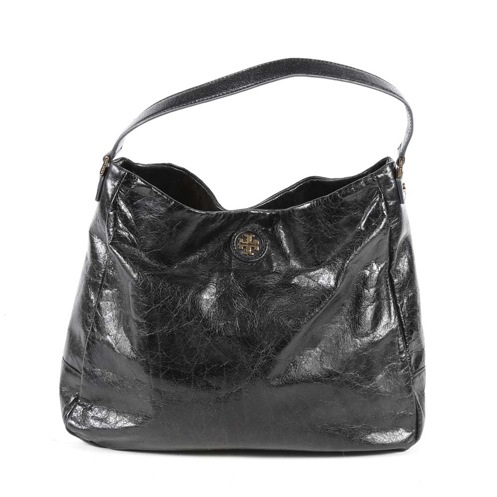 Tory Burch Leather Hobo Style Shoulder Bag
