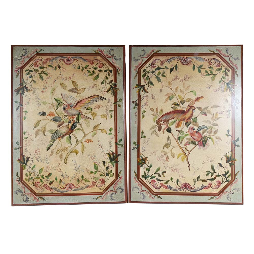 Pair of Decorative Wall Mounting Panels