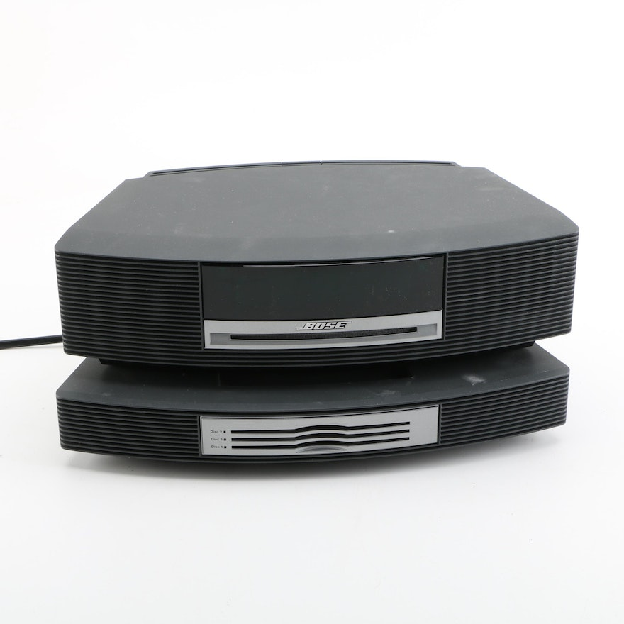 bose wave music system and multi cd changer accessory ebth. Black Bedroom Furniture Sets. Home Design Ideas
