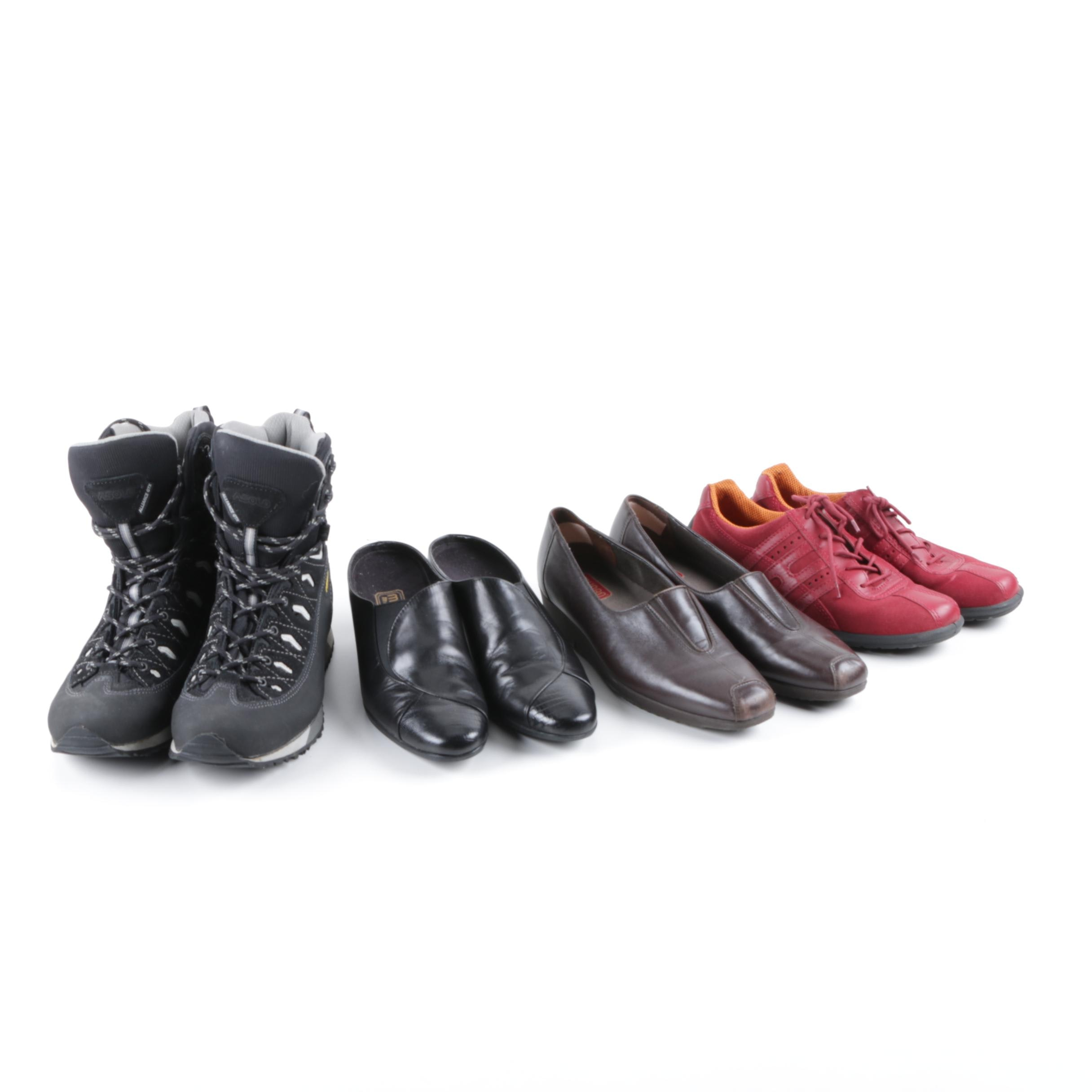 Women's Shoes Including Munro and Hiking Boots