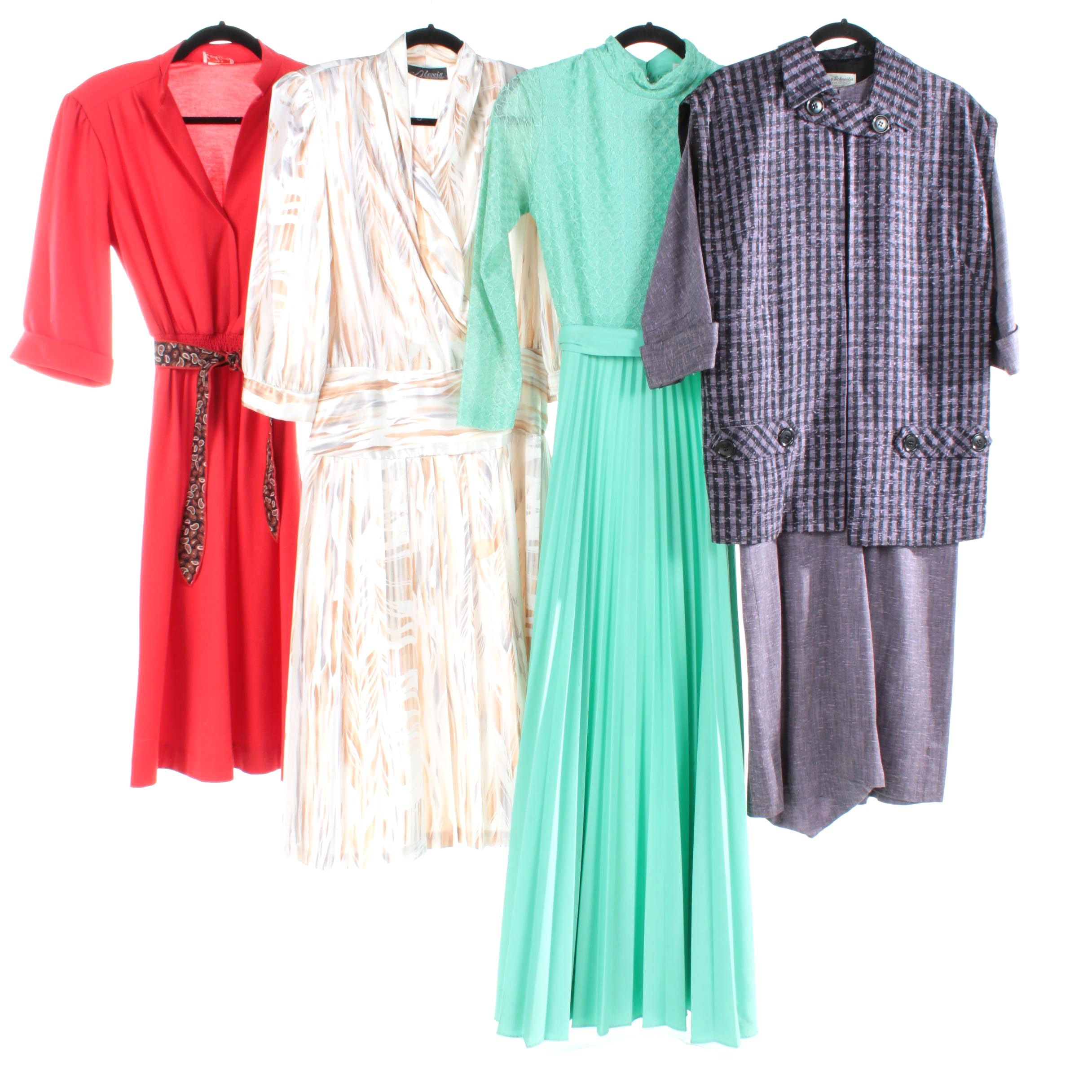 Vintage Dresses Including Murray Schneider