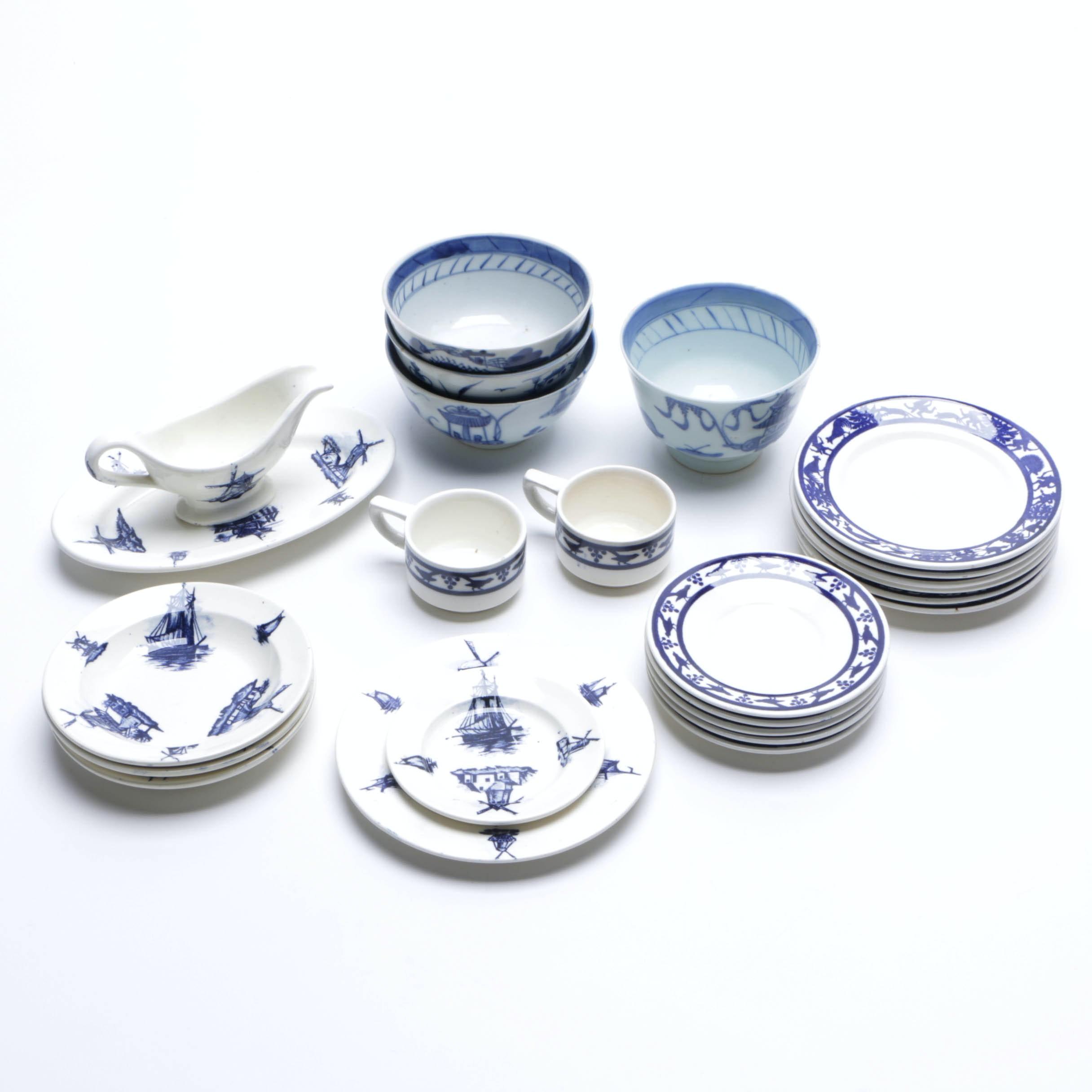 Ceramic Demitasse Collection