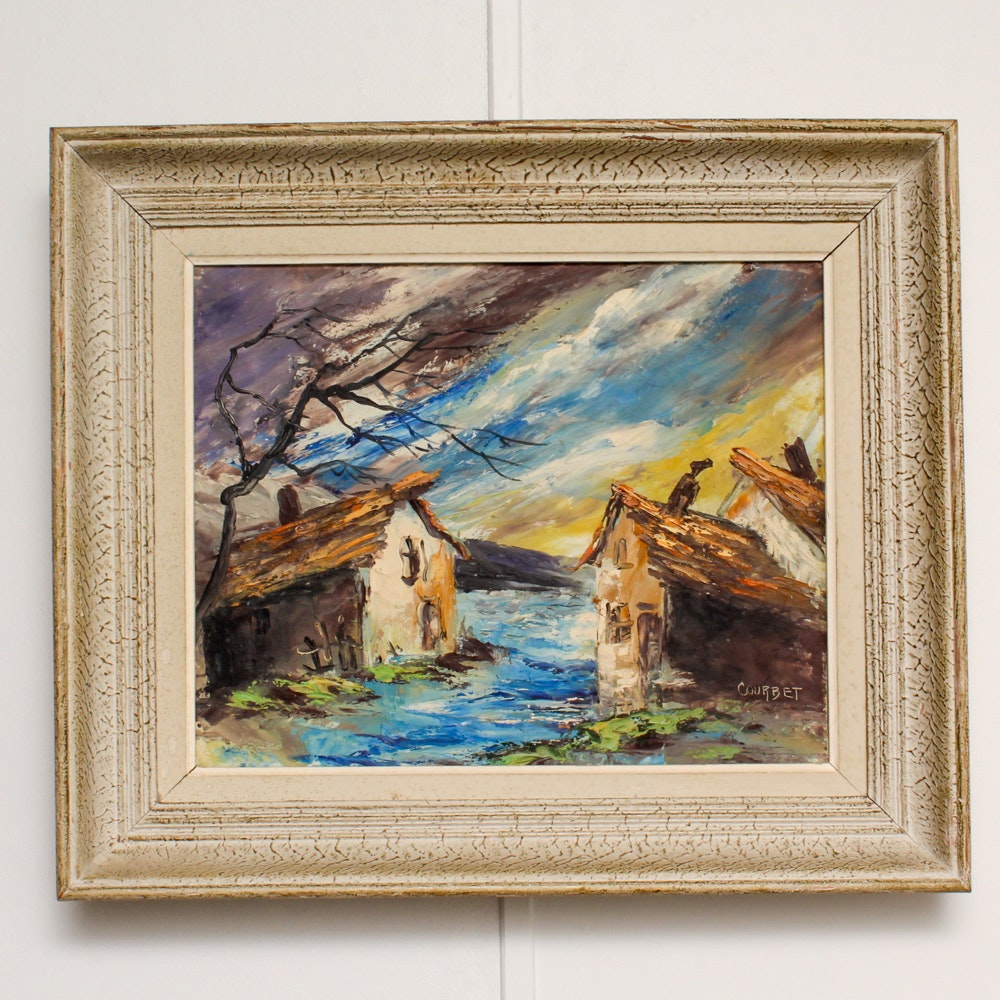 Courbet Oil Painting
