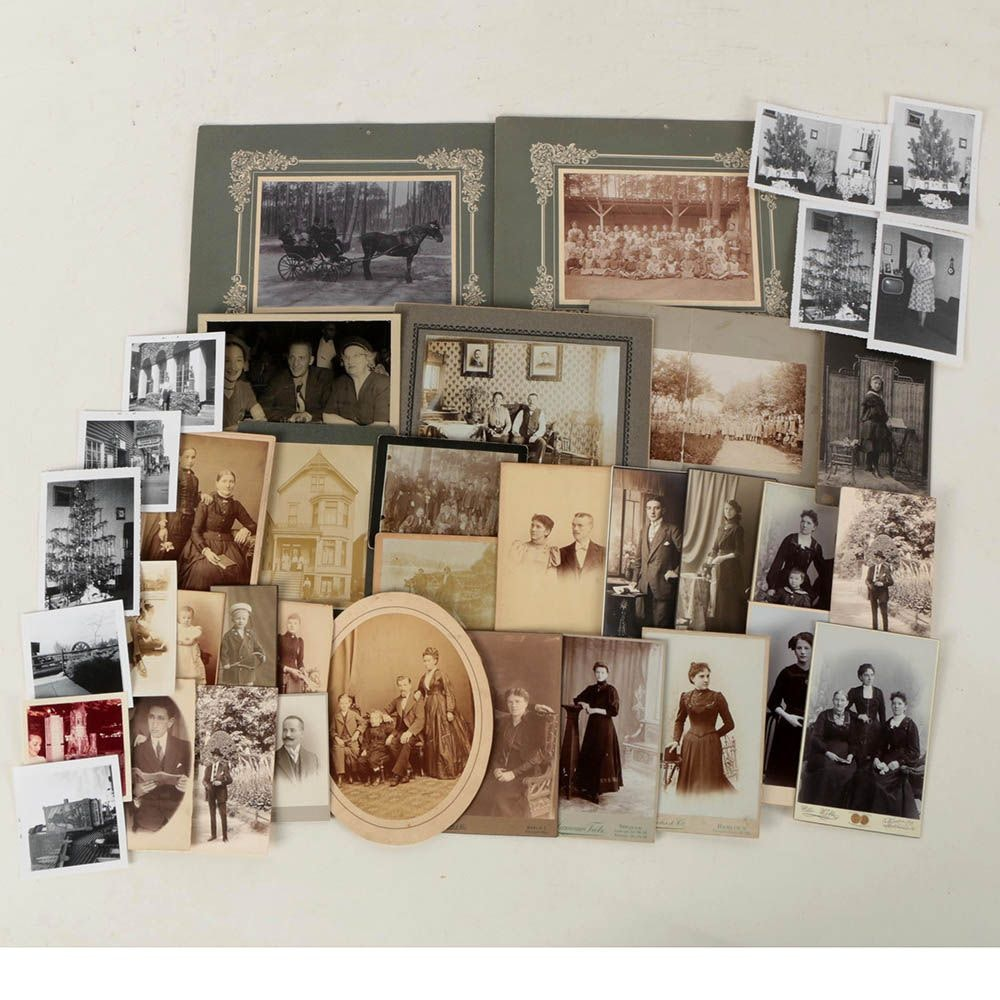 Family Photographs Featuring Cartes de Visite