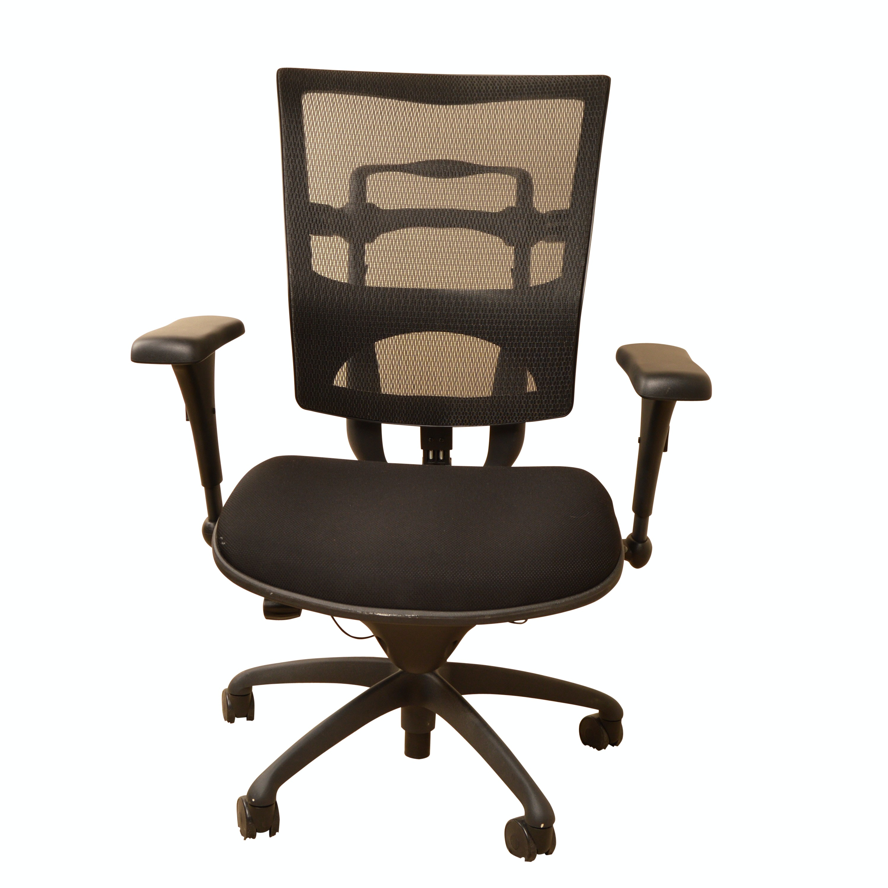 Mesh-Back Adjustable Office Chair
