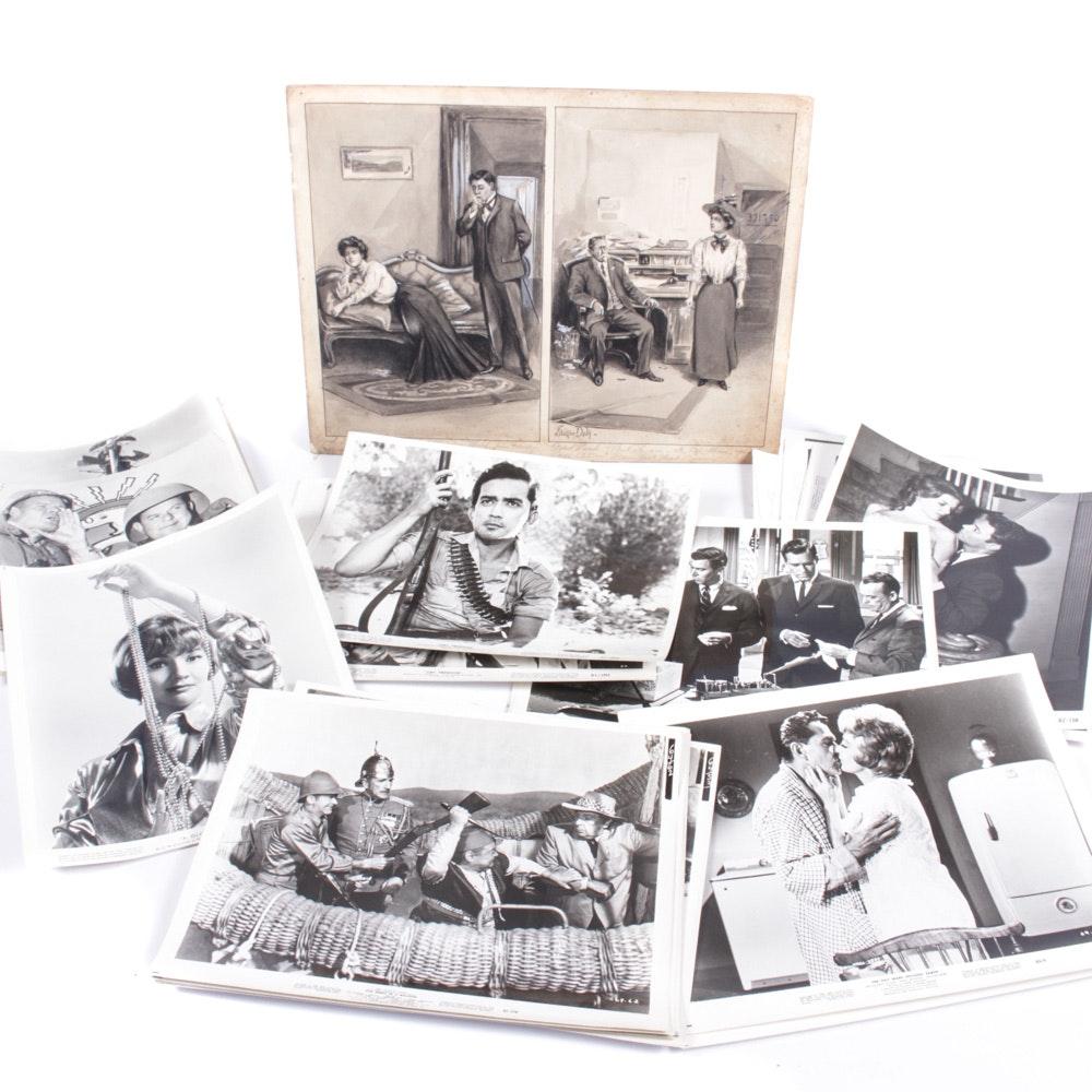 Vintage Movie Still Frame Prints