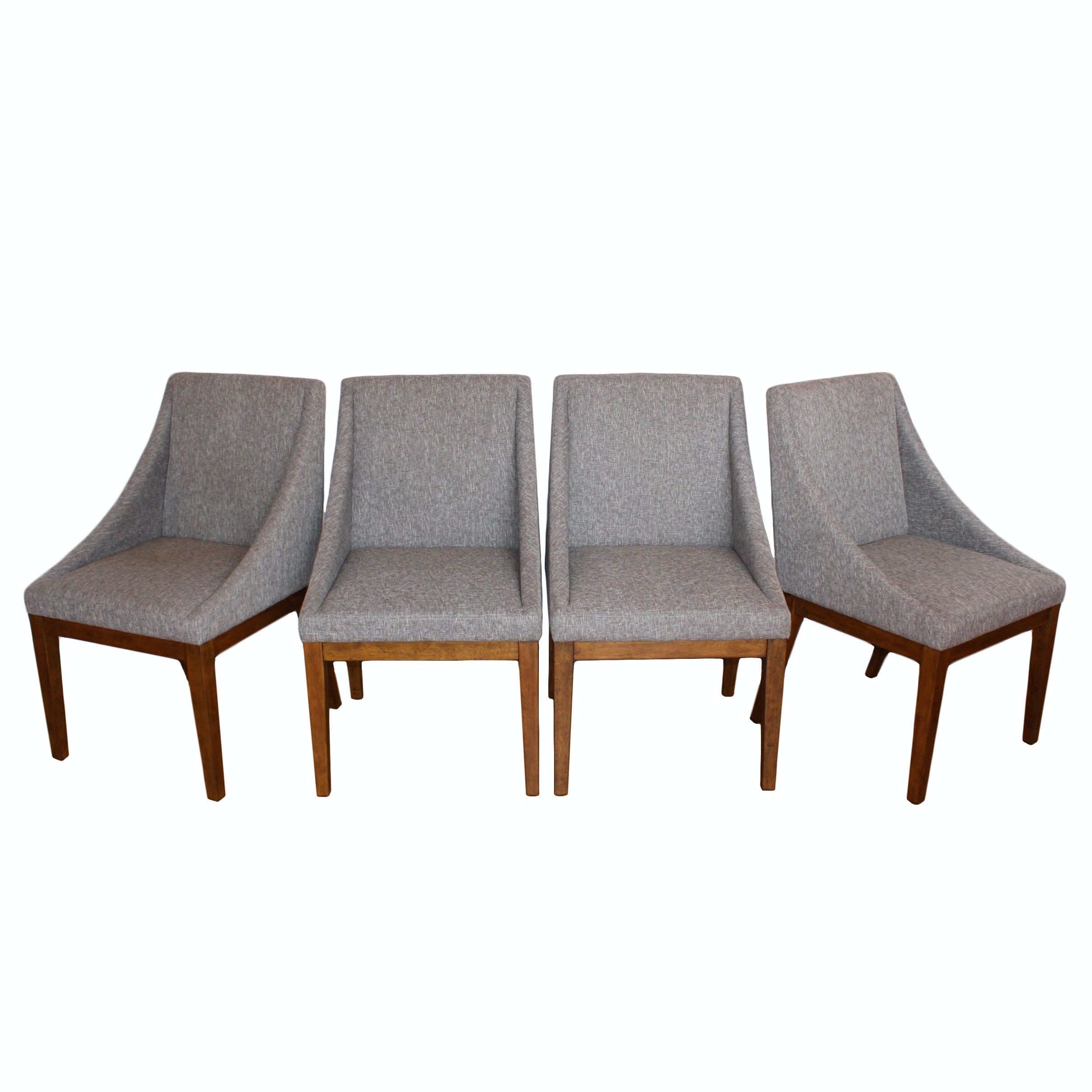 Set of Modern Style Dining Chairs by West Elm