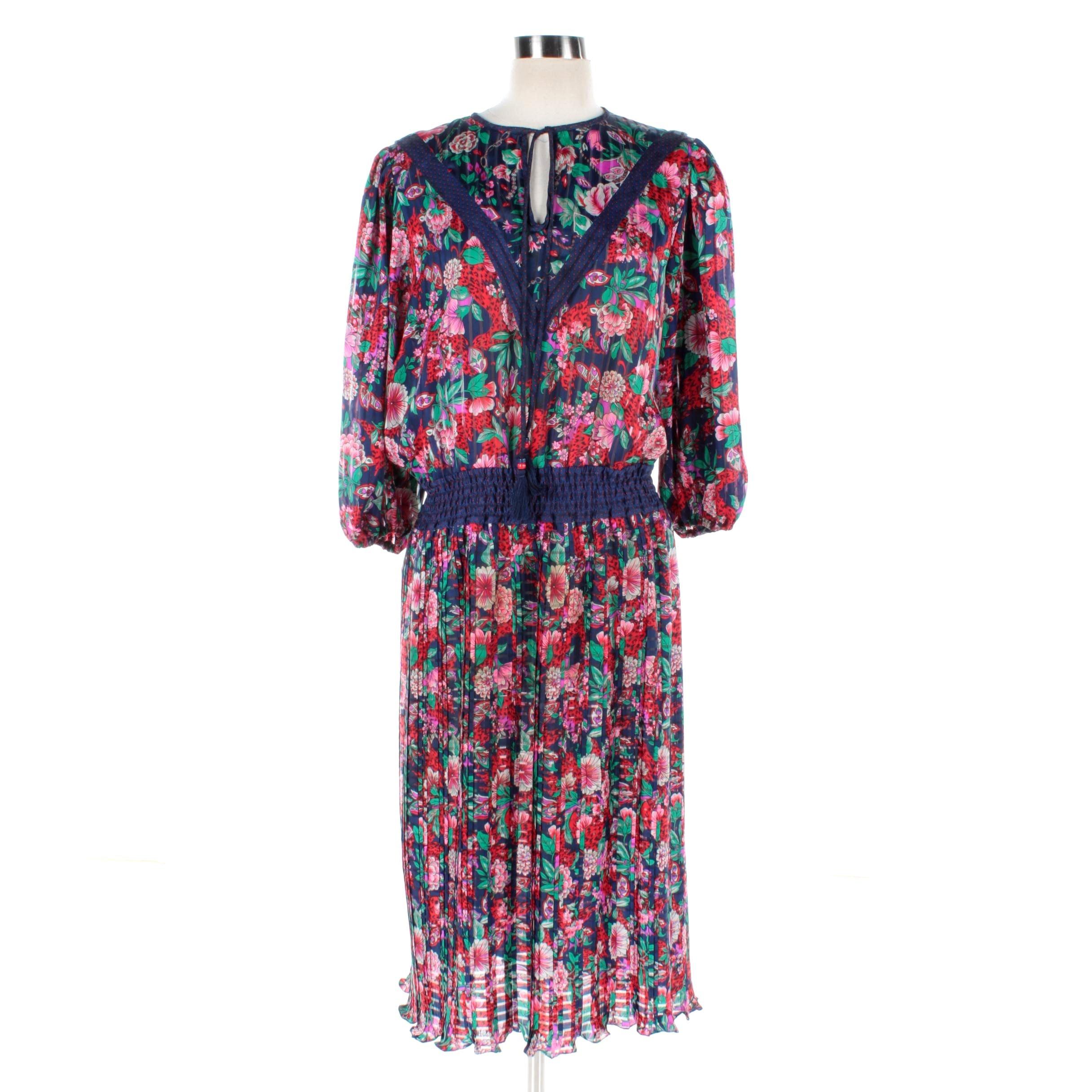 Women's Diane Freis Floral Dress