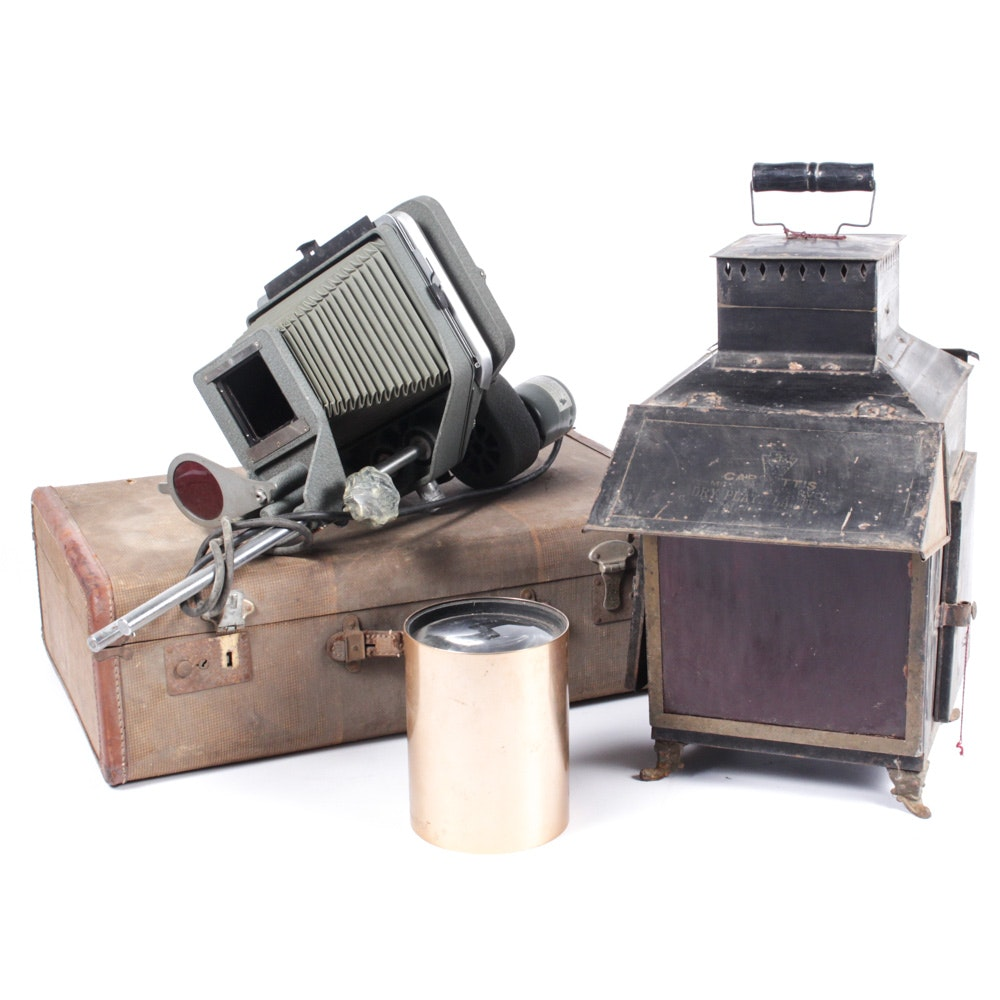 Early 20th Century Photography Equipment