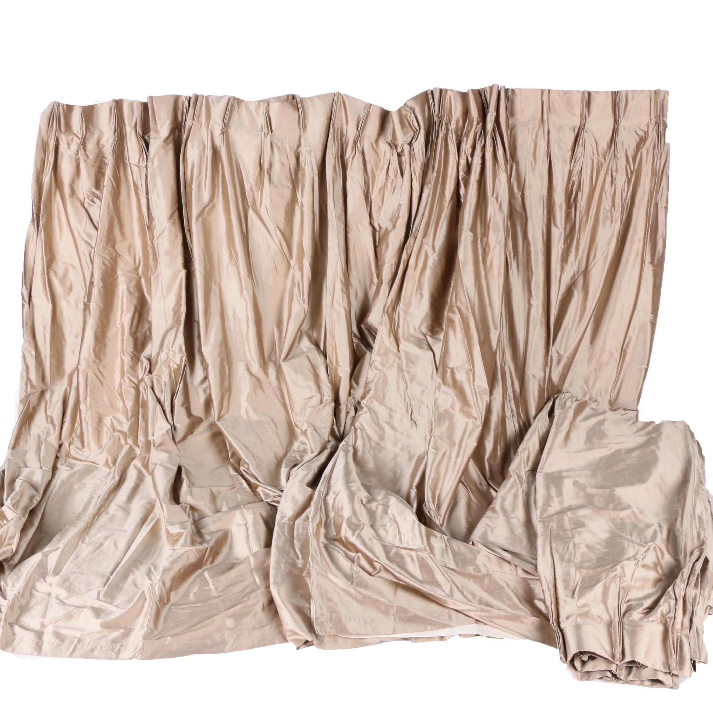 Silk Drape Set